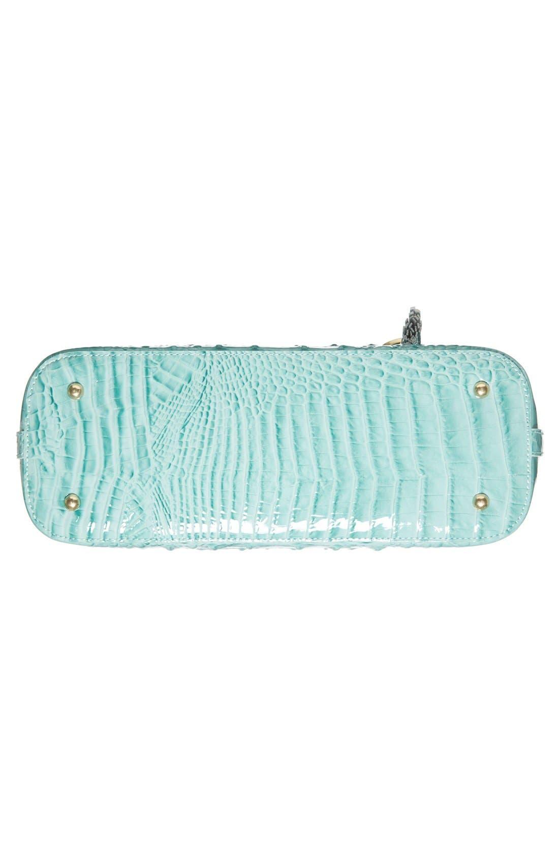 Alternate Image 6  - Brahmin 'Melbourne - Mini Asher' Croc Embossed Leather Tote