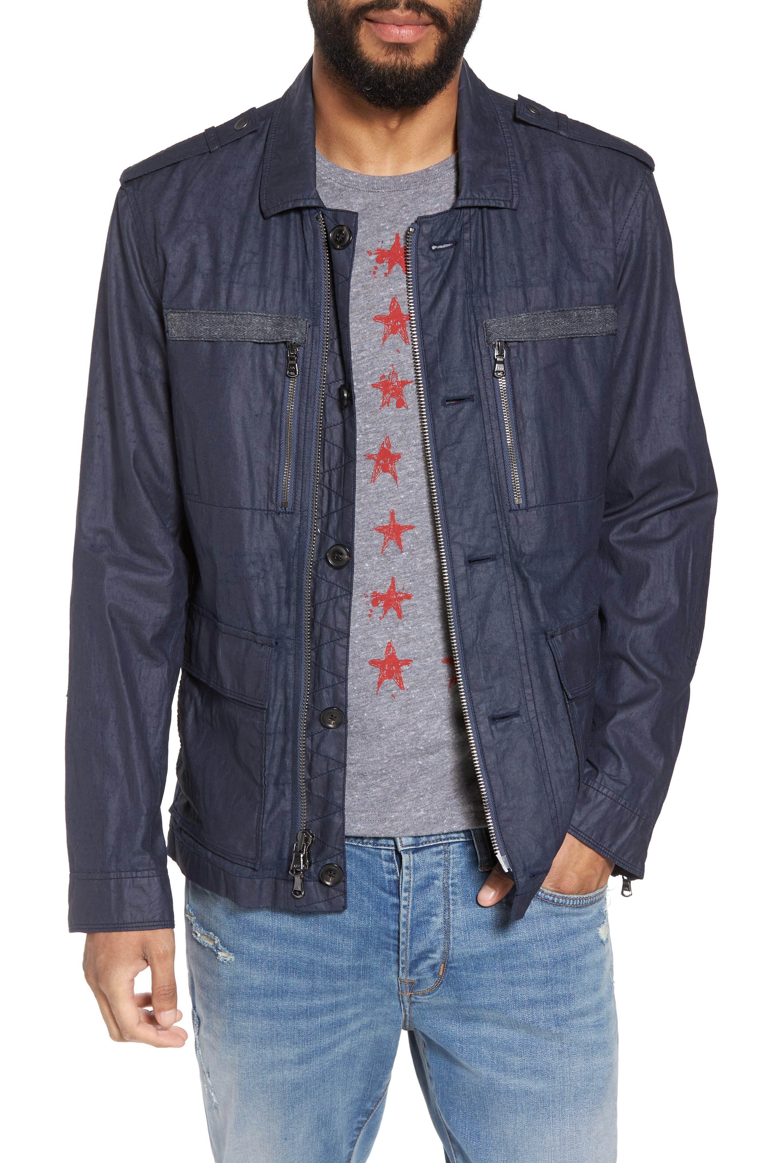 John Varvatos Star USA Slim Fit Field Jacket