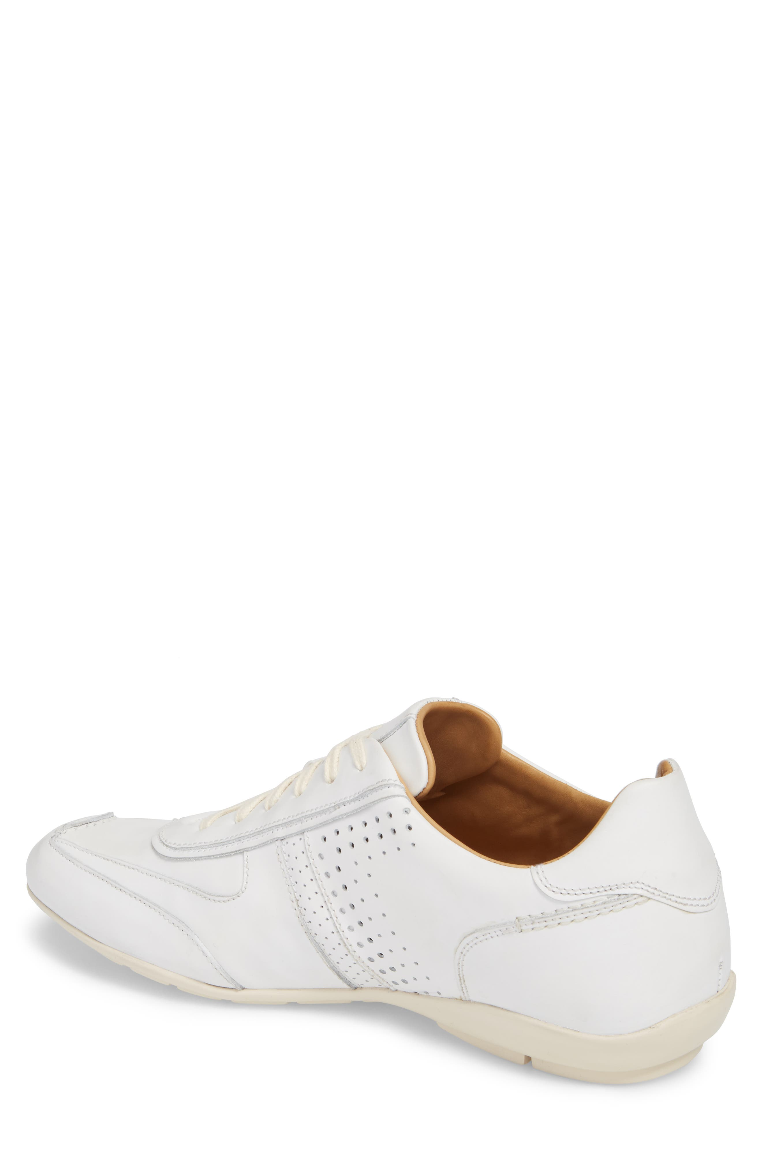 Lozano II Low Top Sneaker,                             Alternate thumbnail 2, color,                             White Leather