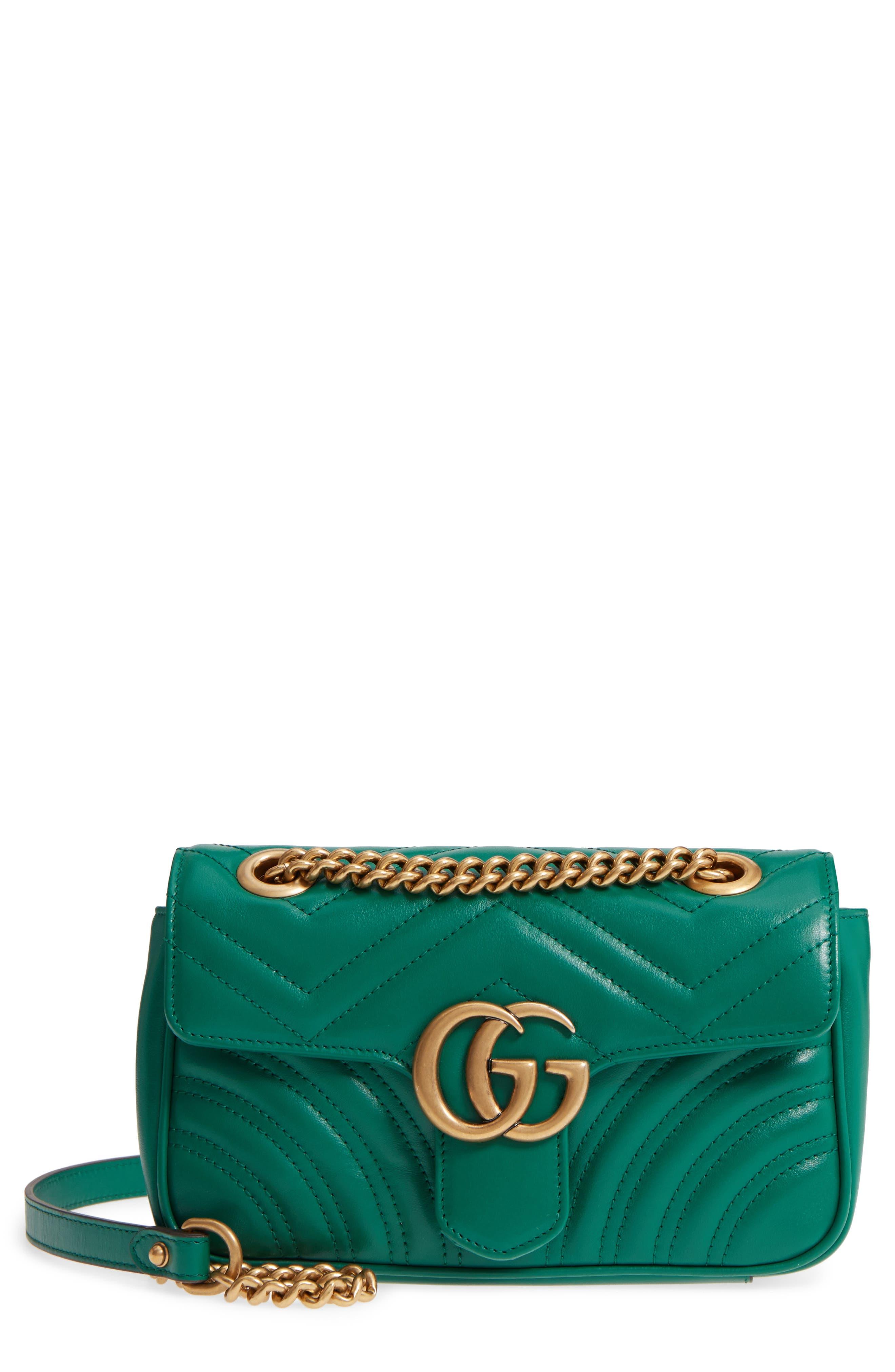 Gucci Mini GG Marmont 2.0 Matelassé Leather Shoulder Bag