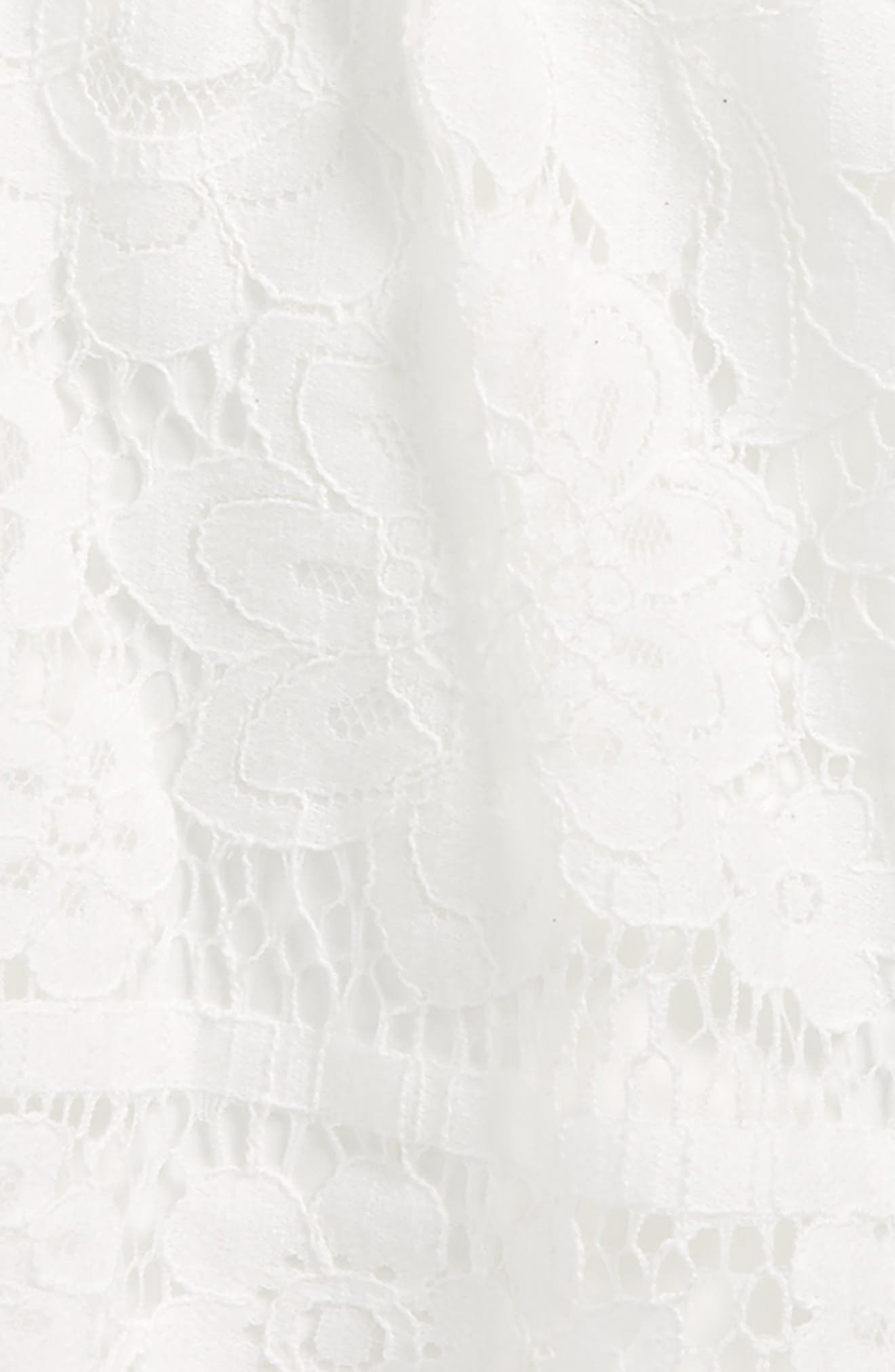 Vienna Lace Sundress,                             Alternate thumbnail 3, color,                             Orchid White