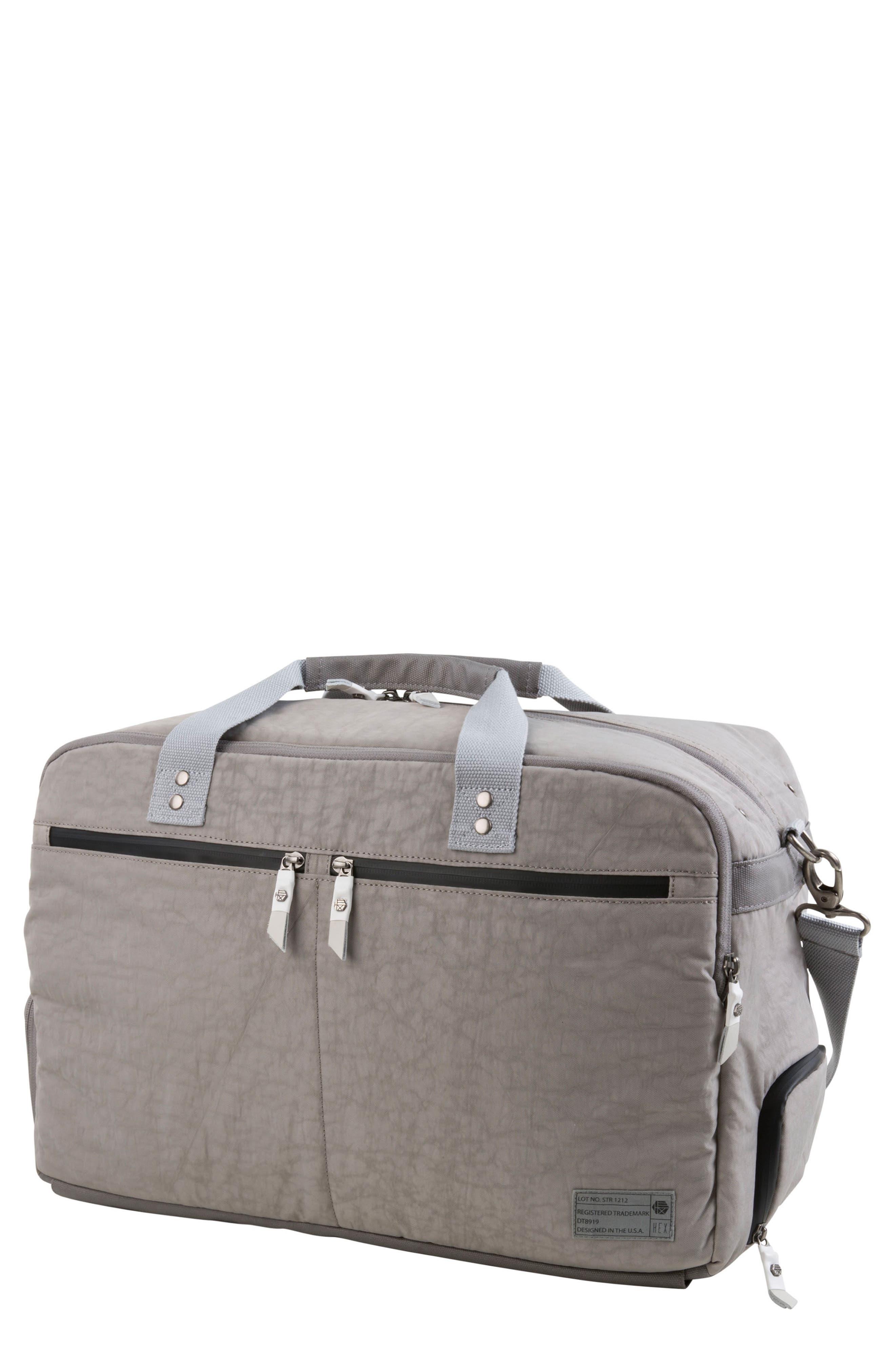 Calibre Convertible Duffel Bag,                             Main thumbnail 1, color,                             Strata Grey