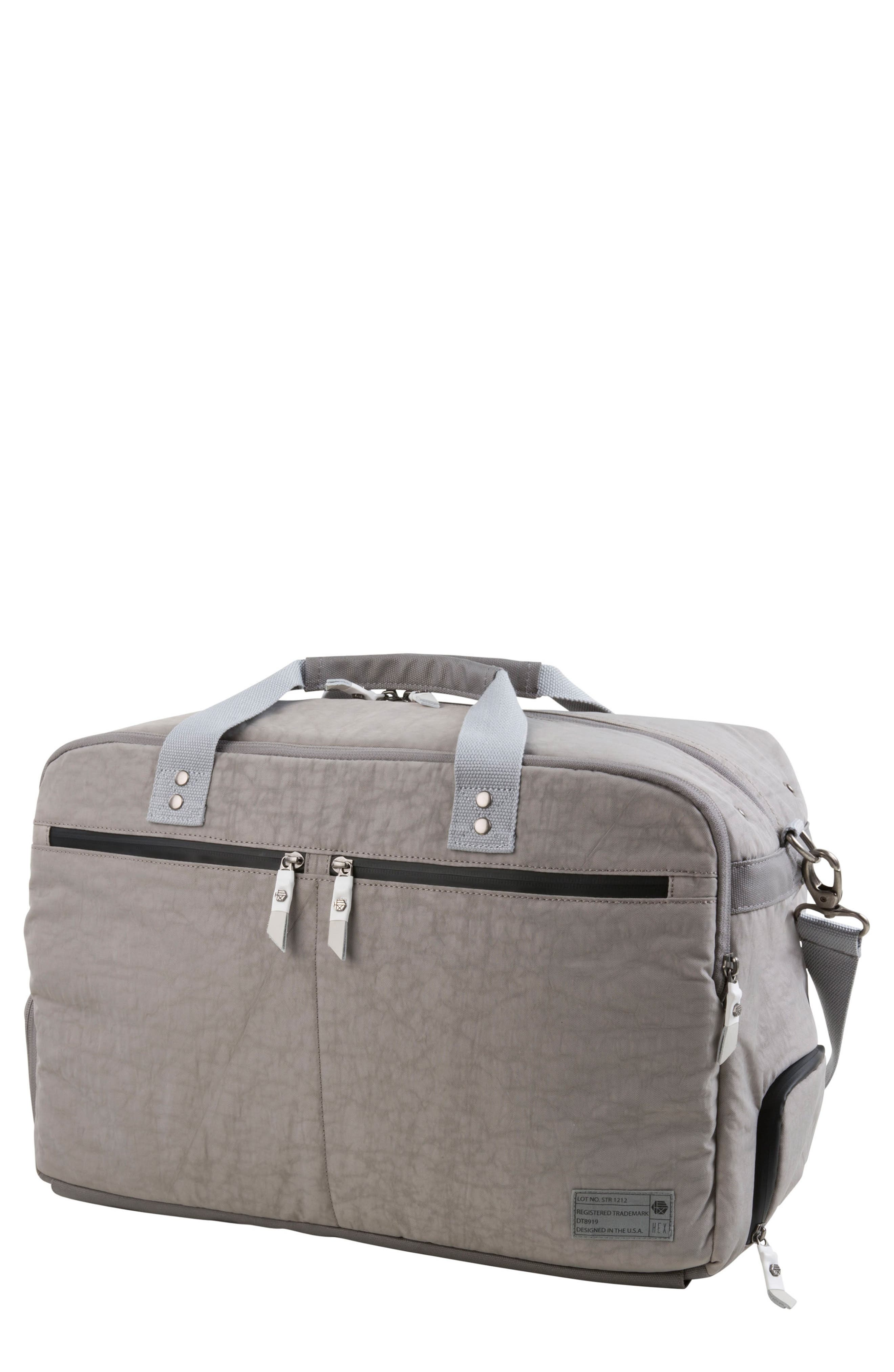 Calibre Convertible Duffel Bag,                         Main,                         color, Strata Grey