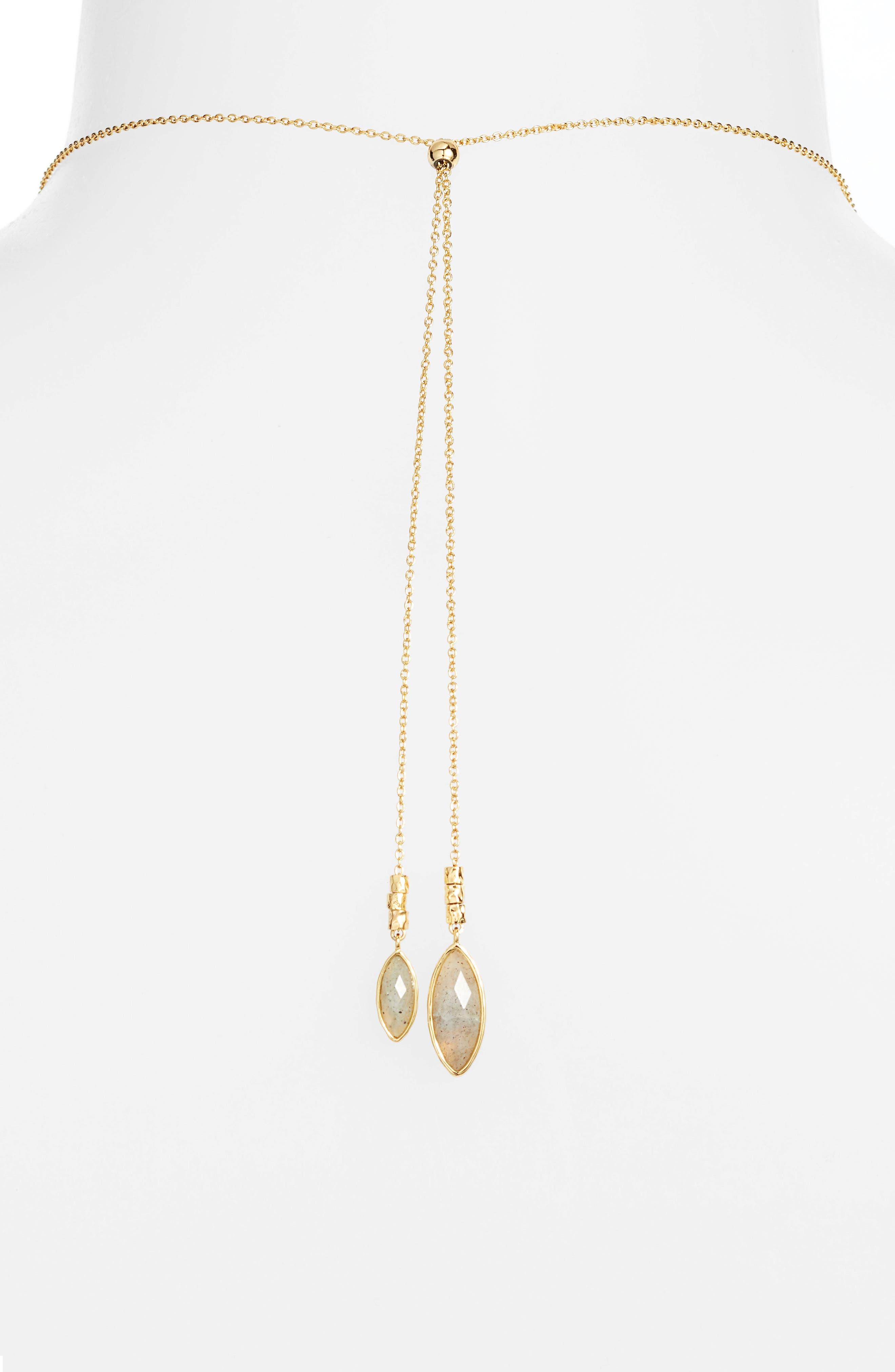 Alternate Image 3  - gorjana Palisades Adjustable Necklace