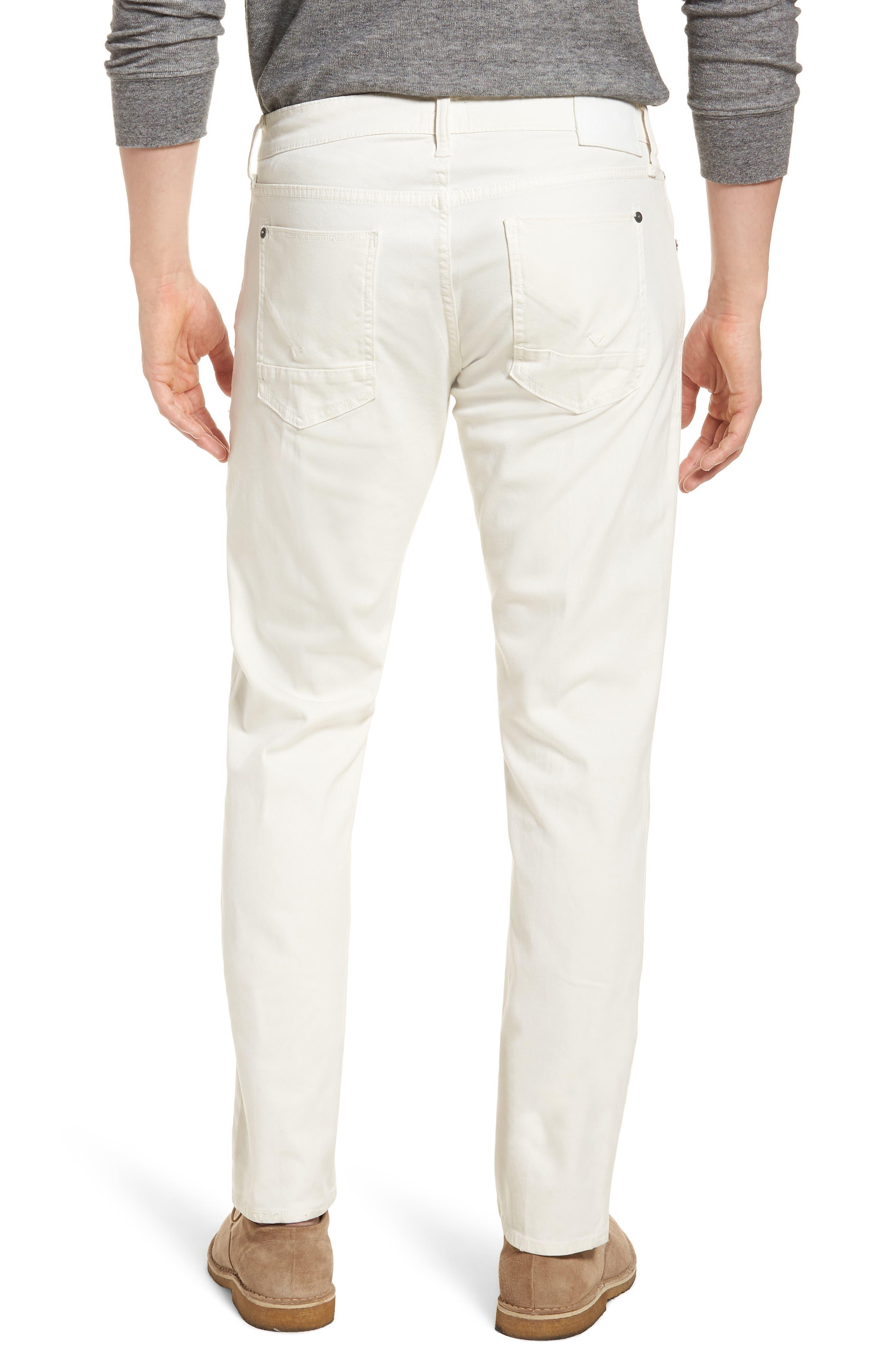 Blake Slim Fit Jeans,                             Alternate thumbnail 3, color,                             Off White