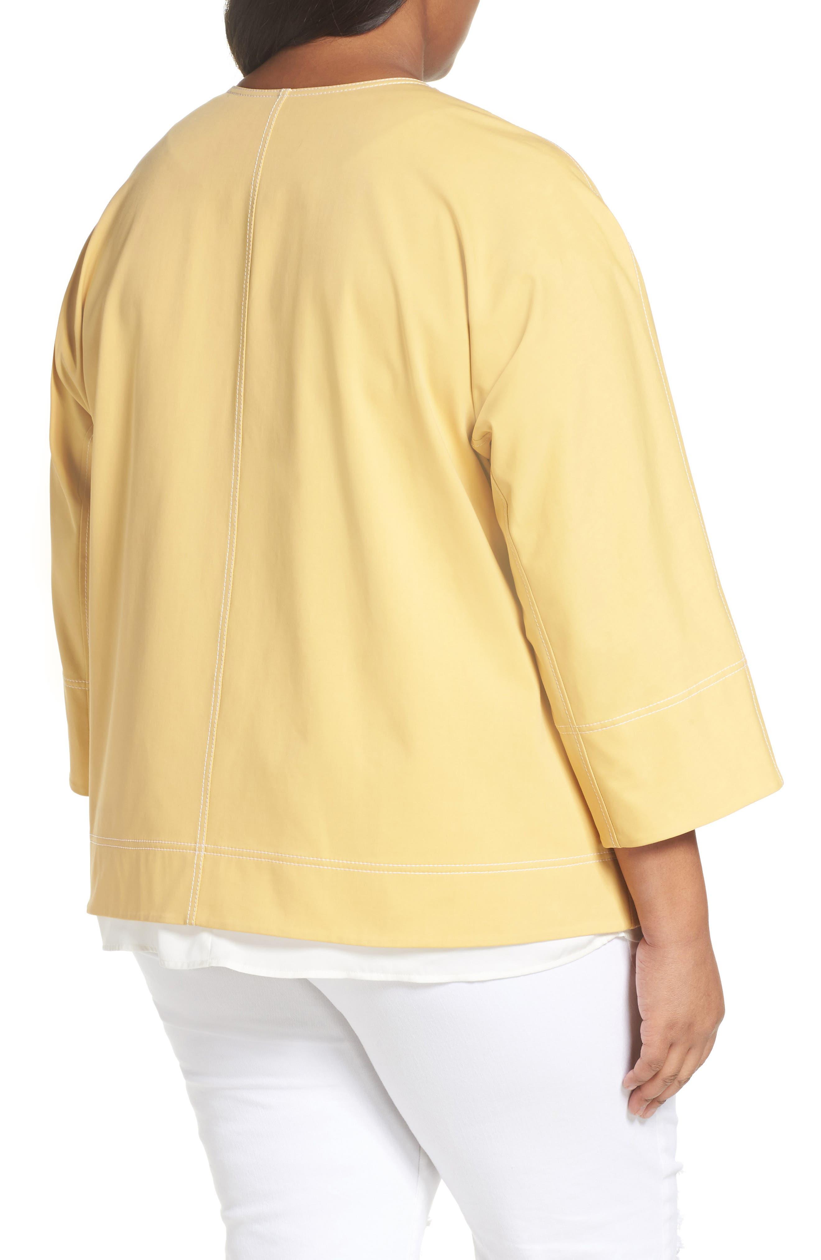 Milo Zip Jacket,                             Alternate thumbnail 2, color,                             Sienna Yellow