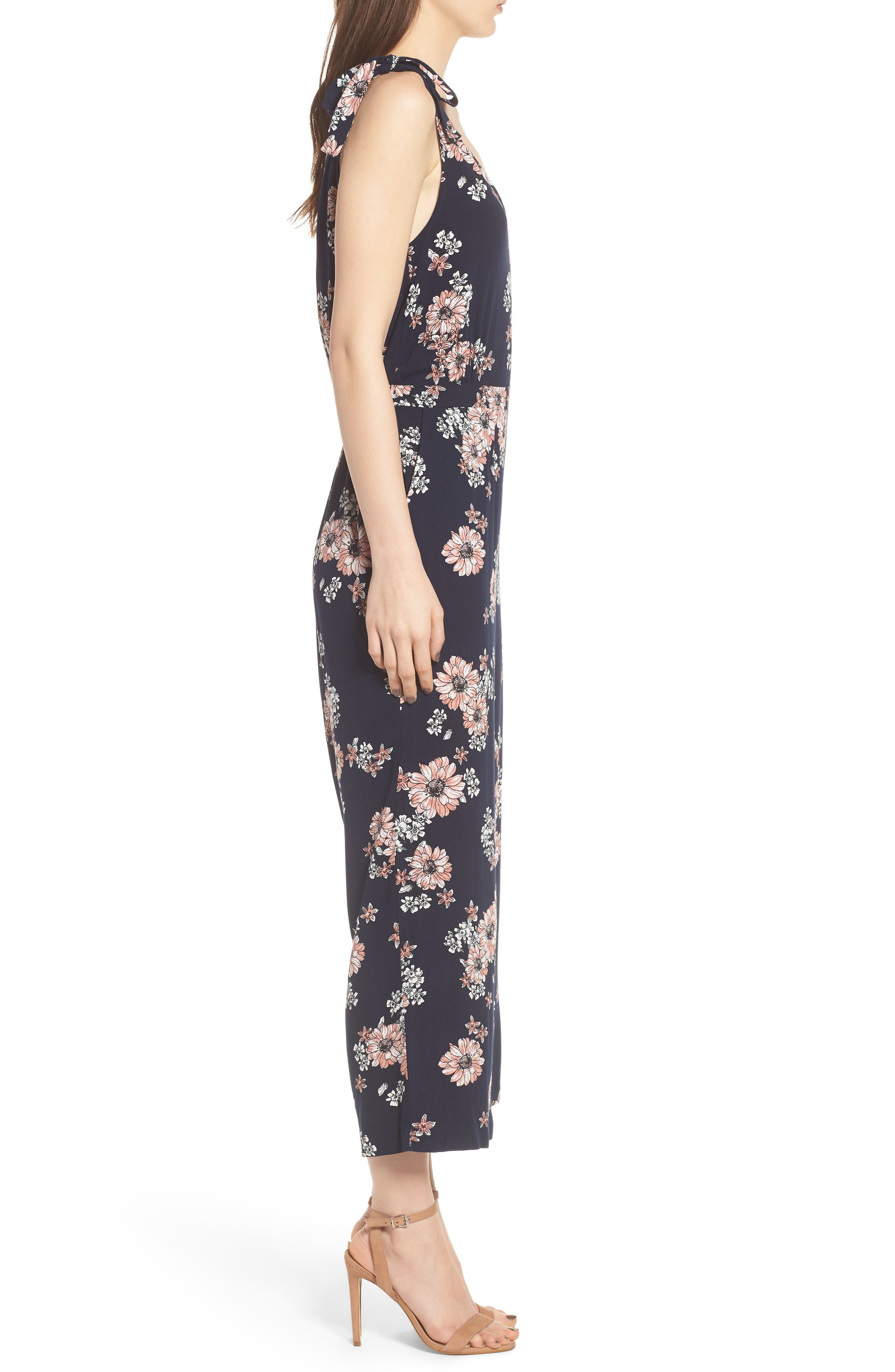 Alternate Image 3  - cupcakes and cashmere Lili Floral Jumpsuit