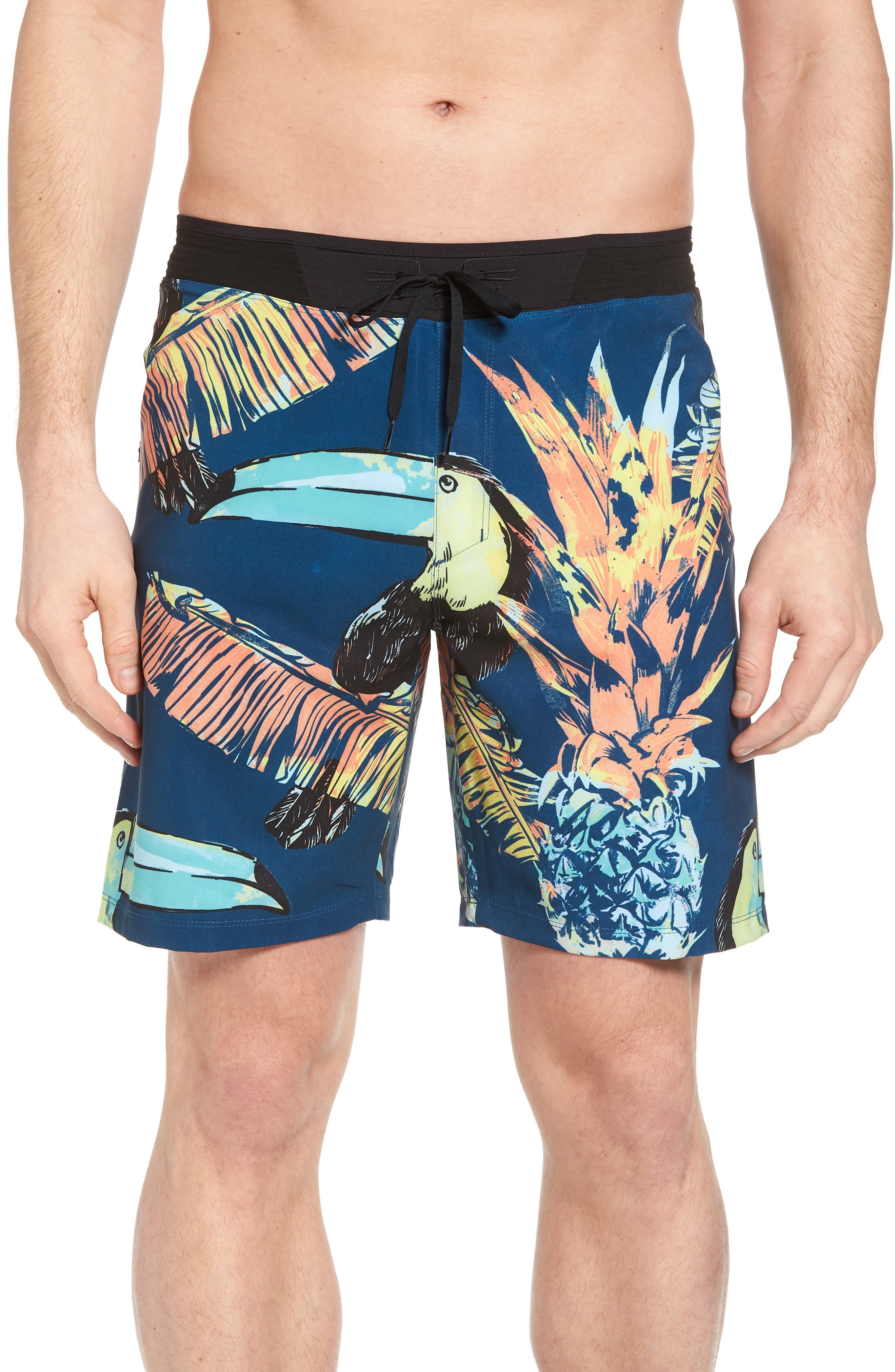 Alternate Image 1 Selected - Hurley Phantom Hyperweave 3.0 Board Shorts