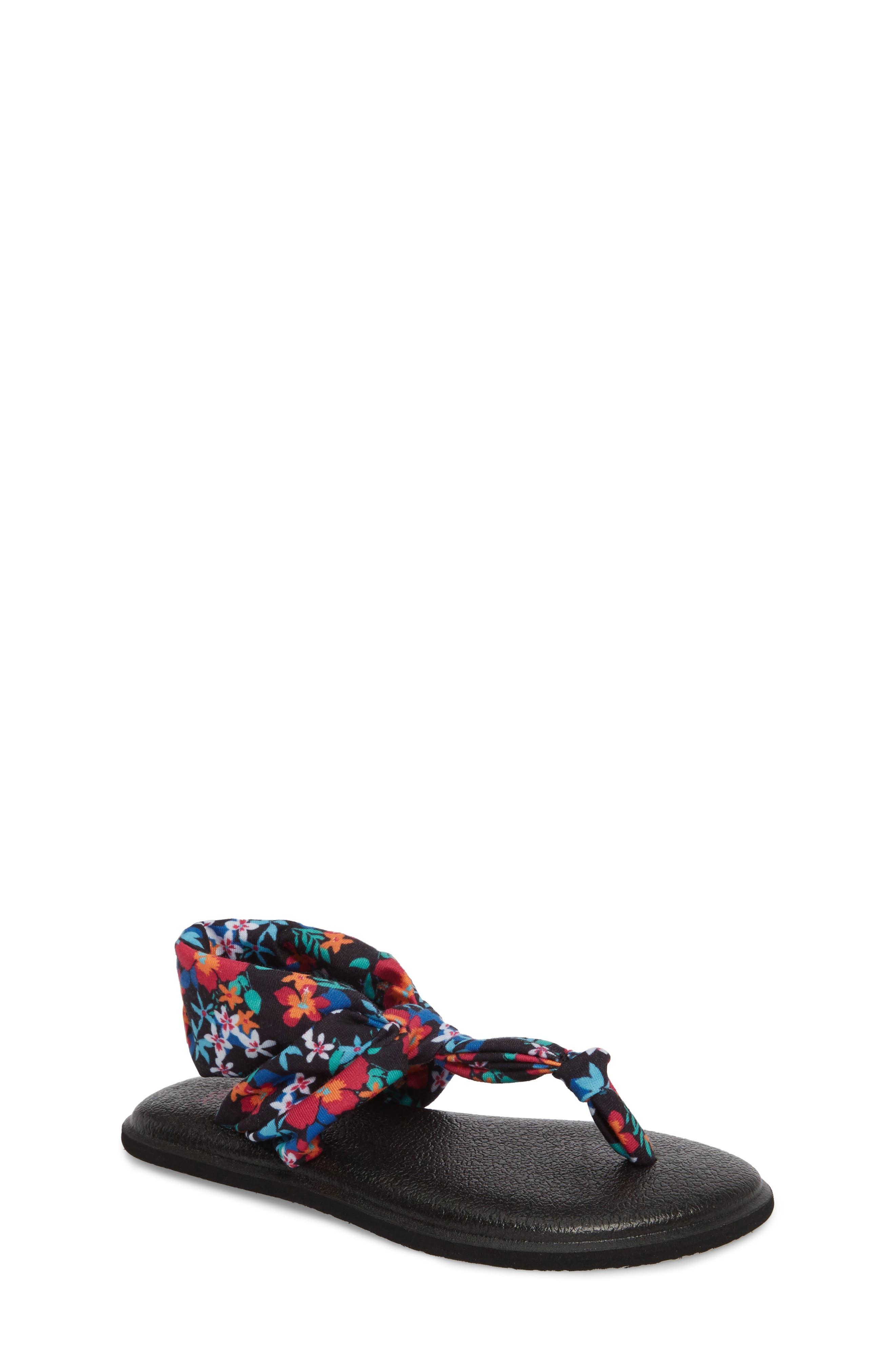 Sanuk Yoga Sling Ella Sandal (Toddler, Little Kid & Big Kid)