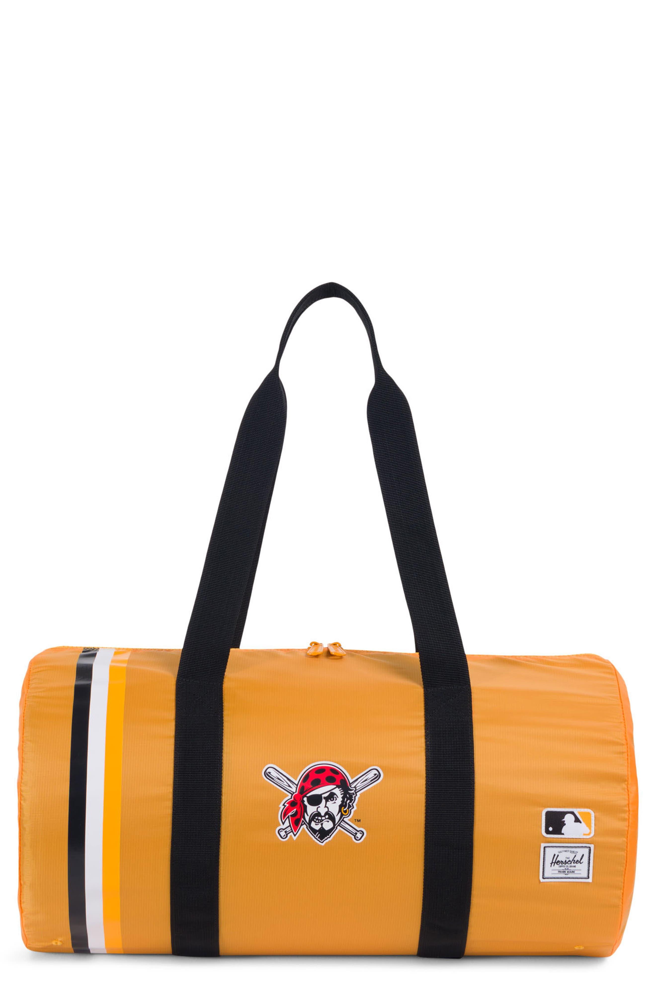 Packable - MLB National League Duffel Bag,                             Main thumbnail 1, color,                             Pittsburgh Pirates