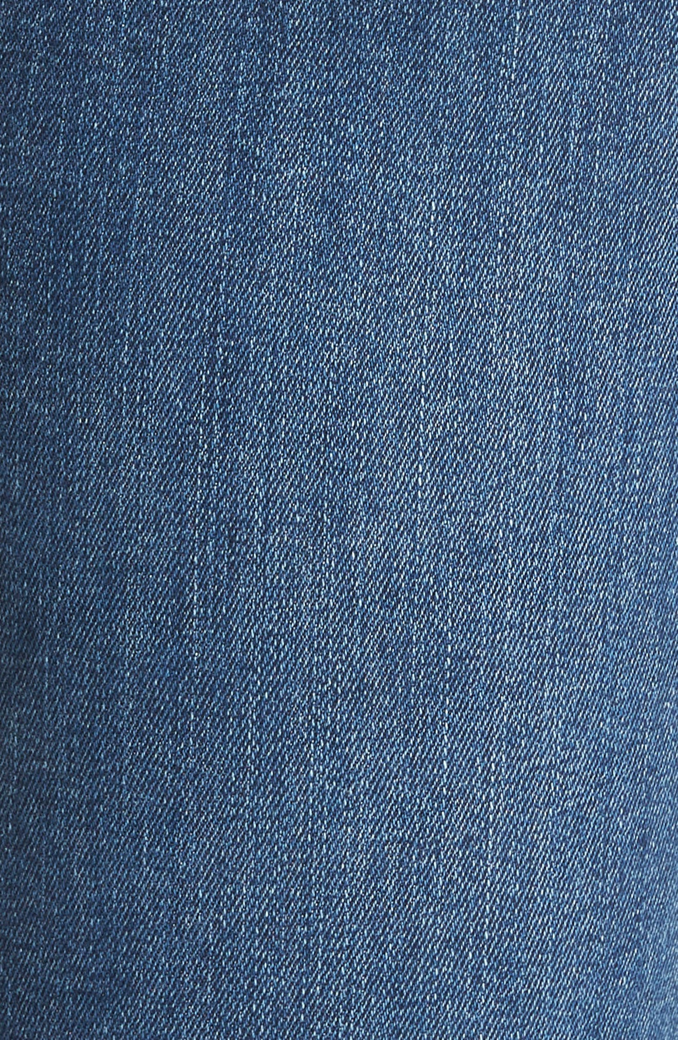 Hoxton High Waist Ankle Skinny Jeans,                             Alternate thumbnail 6, color,                             Bloomfield
