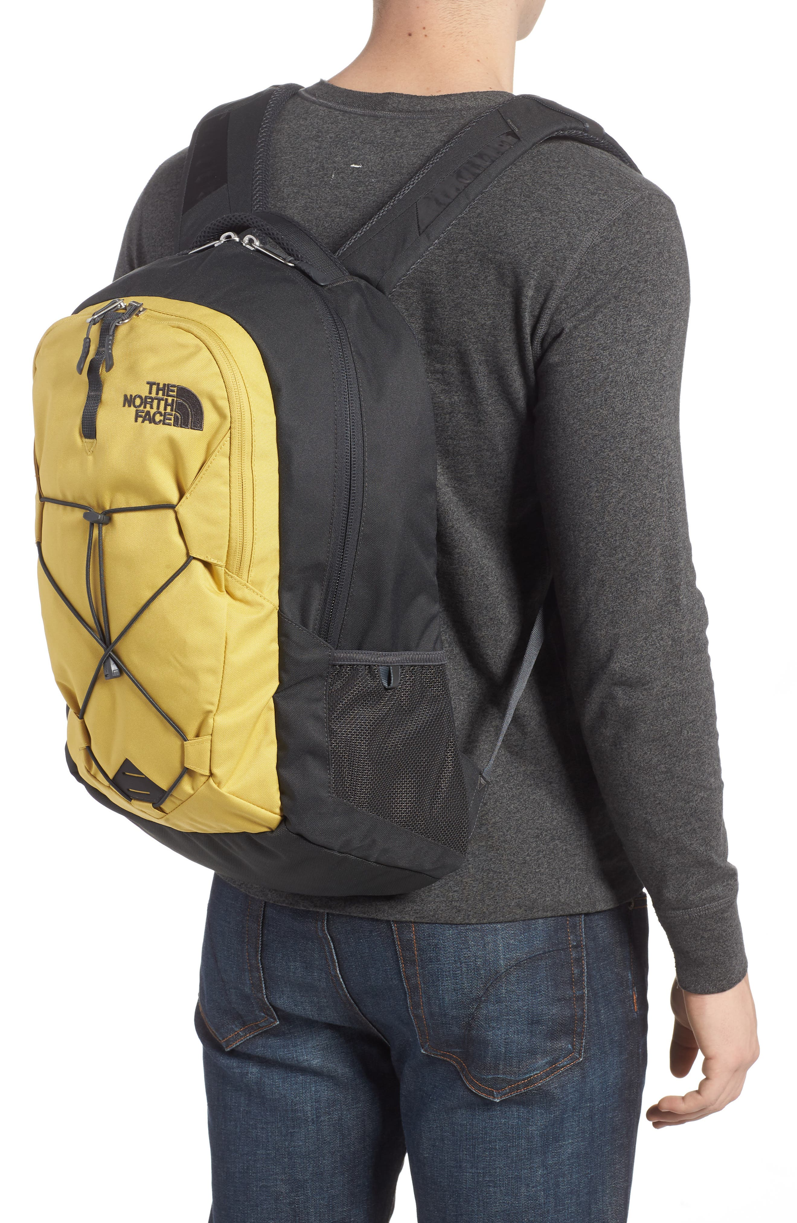 'Jester' Backpack,                             Alternate thumbnail 2, color,                             Olivenite Yellow/ Asphalt Grey