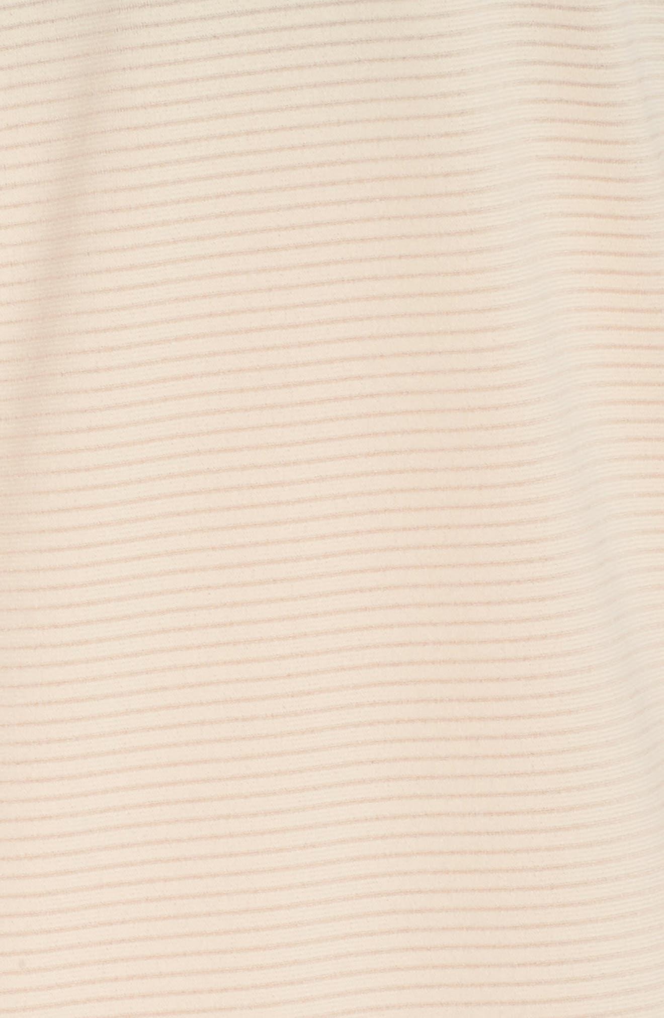 Body Work Stripe Tank,                             Alternate thumbnail 6, color,                             Coral Pale