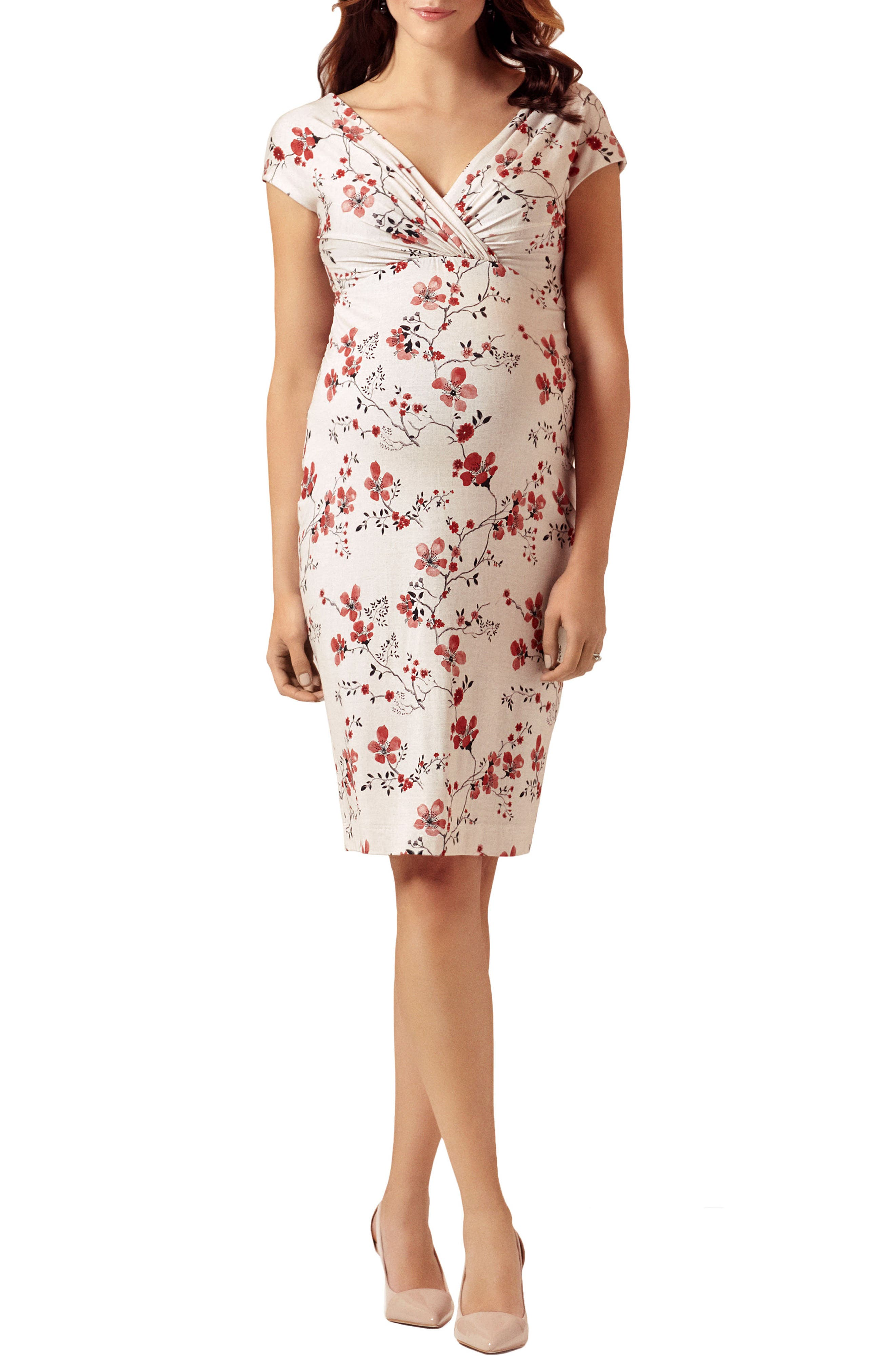 Tiffany Rose Bardot Maternity Sheath Dress