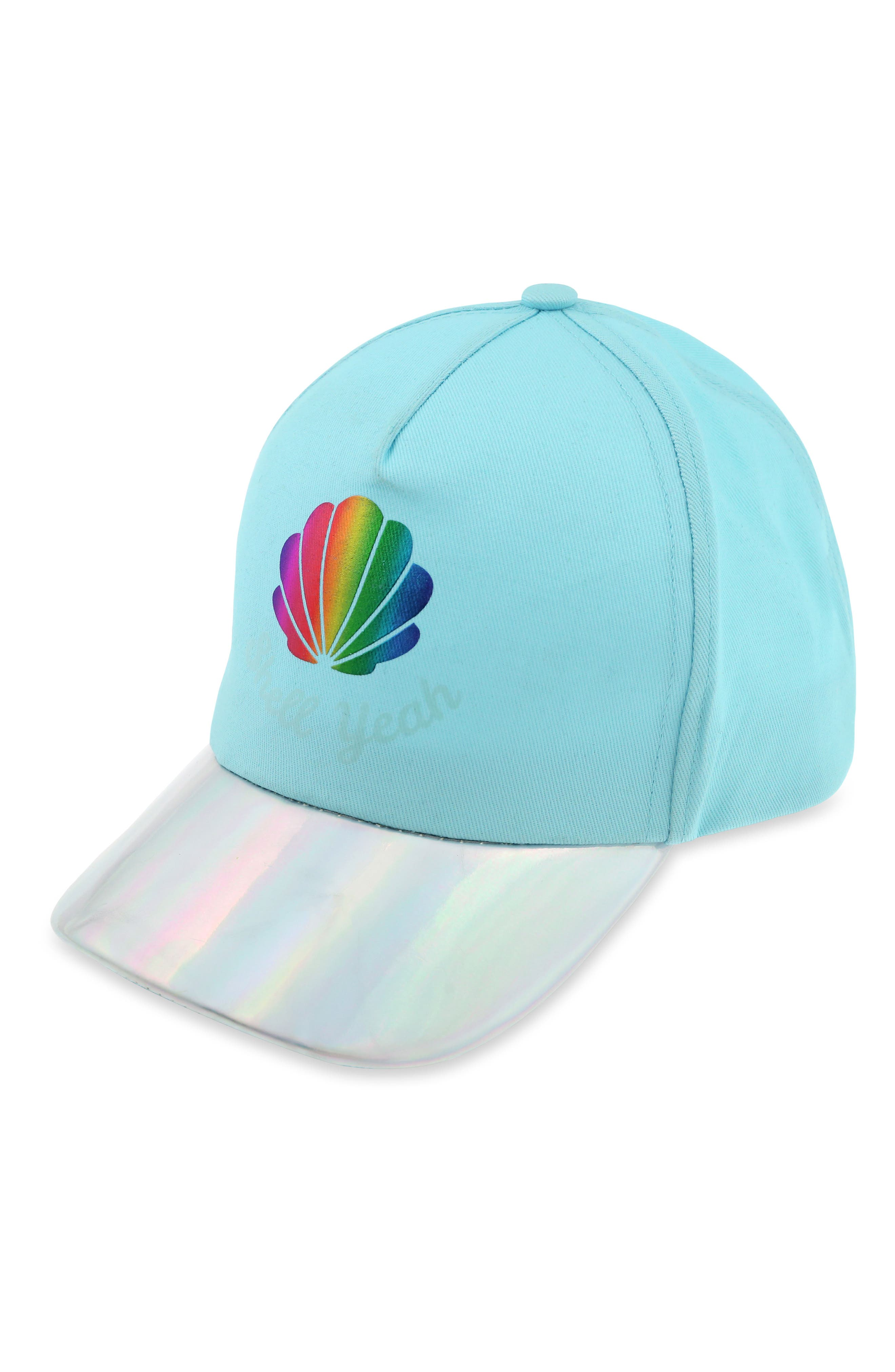 Capelli New York Shell Yeah Sun Activated Baseball Cap