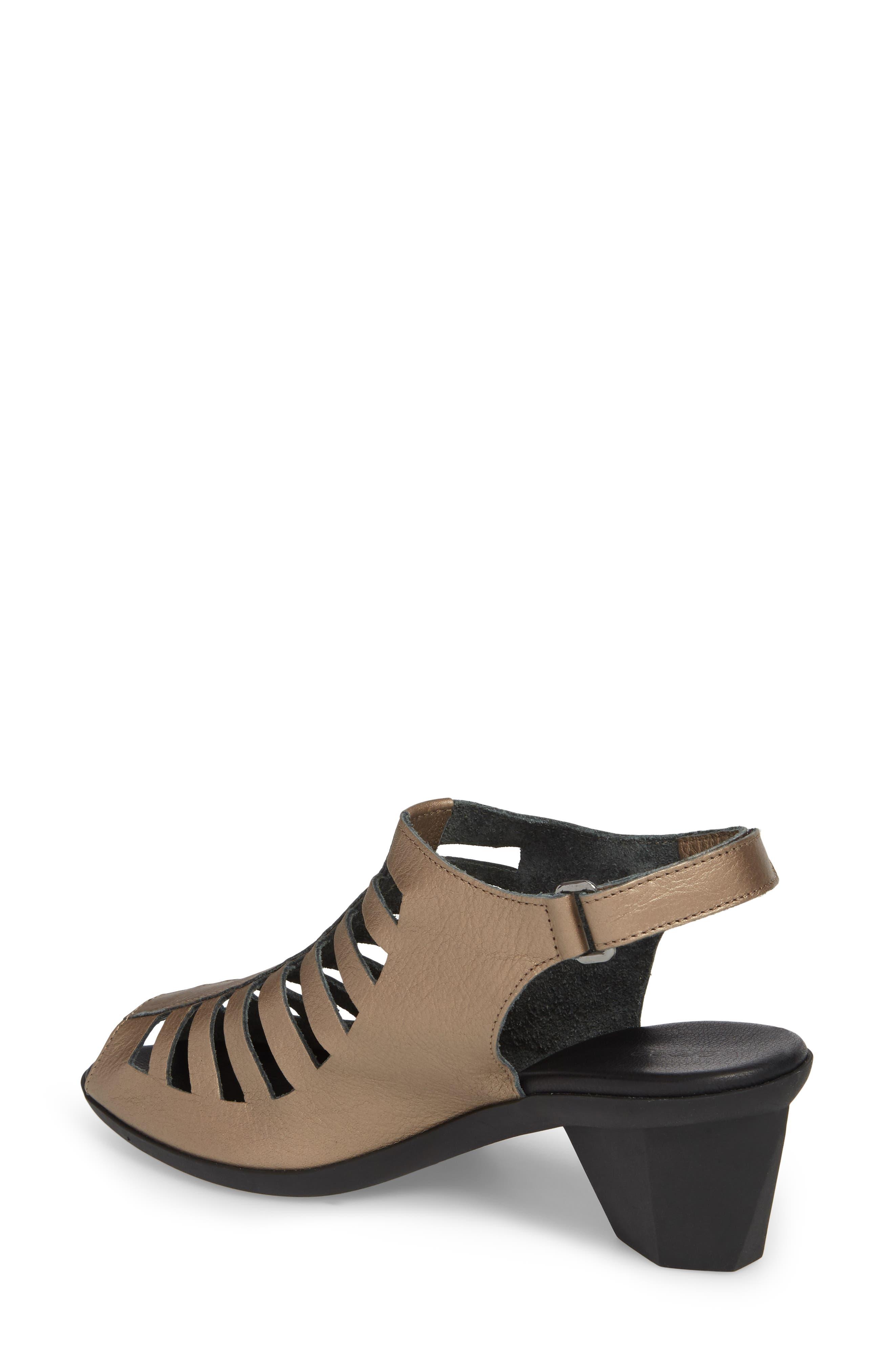Enexor Sandal,                             Alternate thumbnail 2, color,                             Moon/ Noir Leather