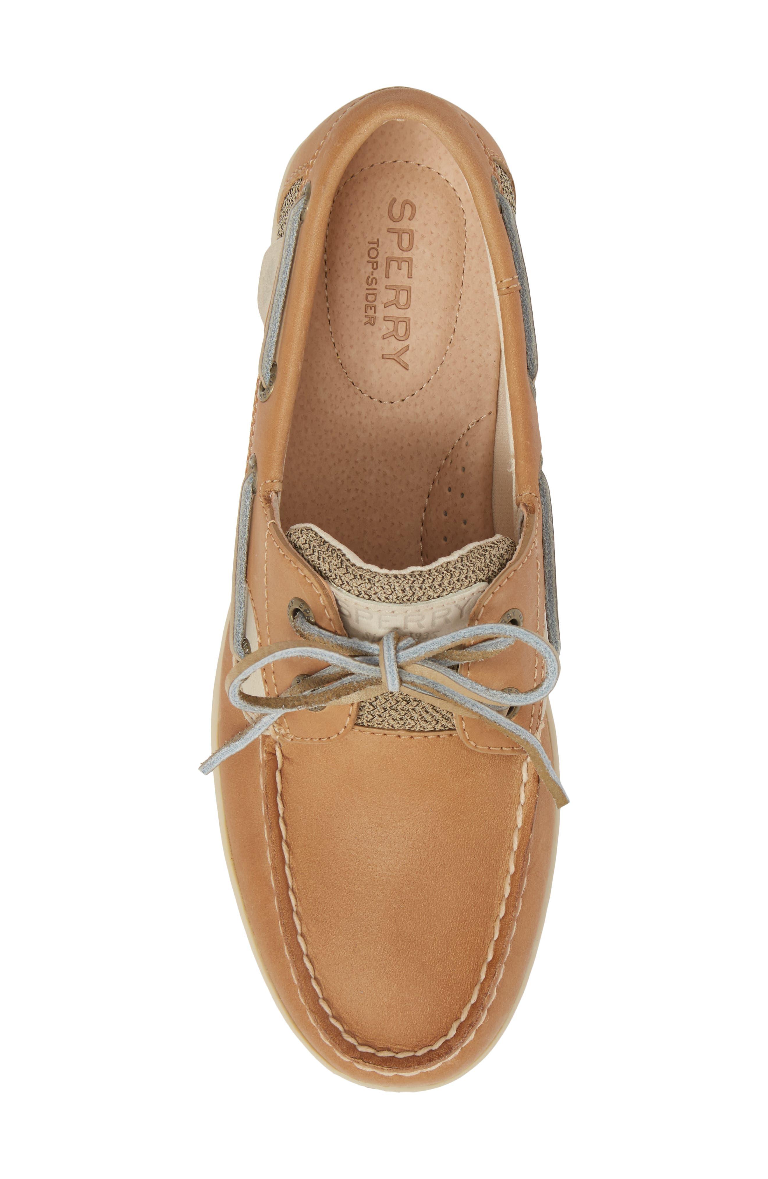 Top-Sider Koifish Loafer,                             Alternate thumbnail 5, color,                             Linen Oat Leather