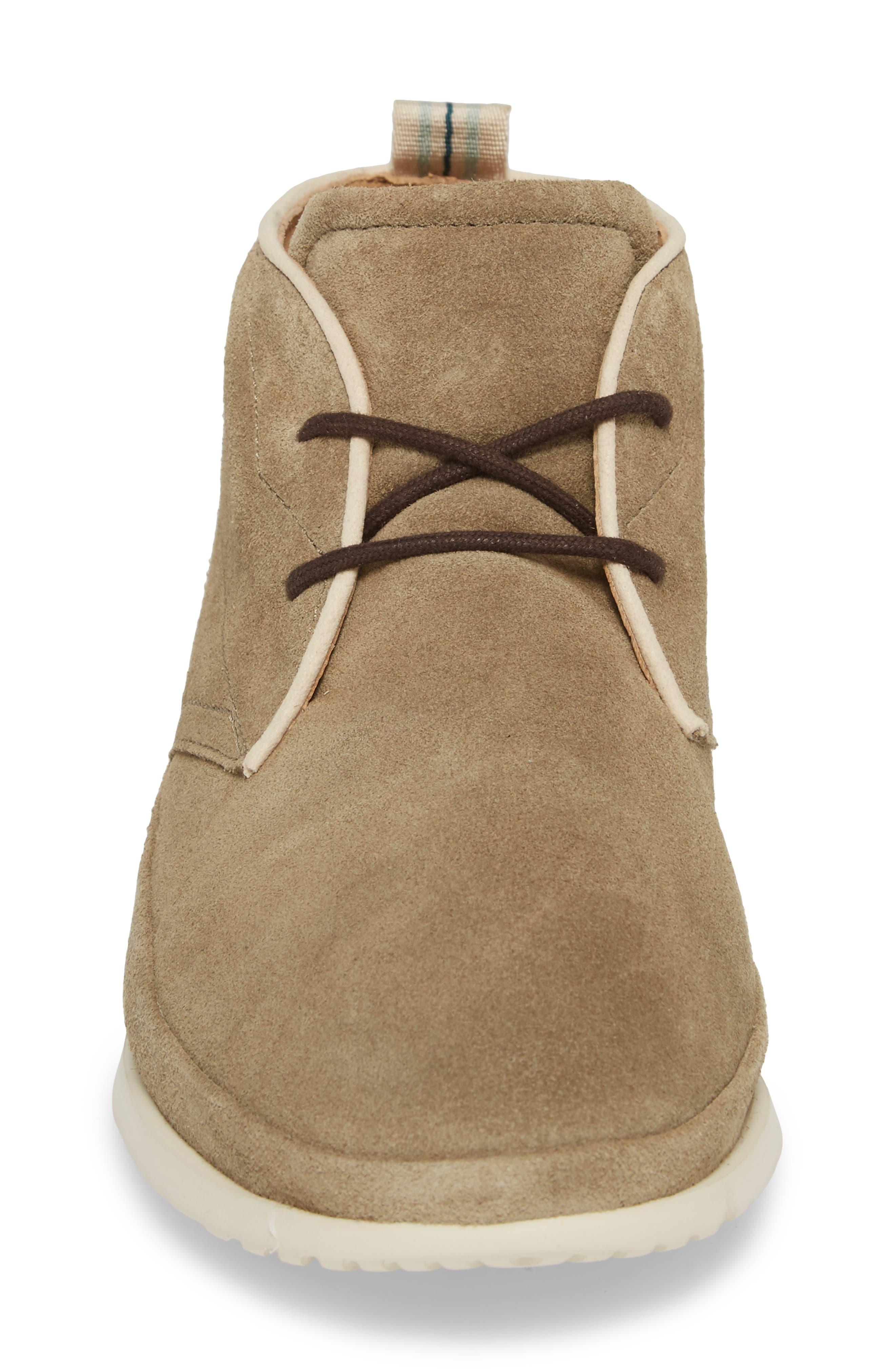 Cali Chukka Boot,                             Alternate thumbnail 4, color,                             Antilope Leather