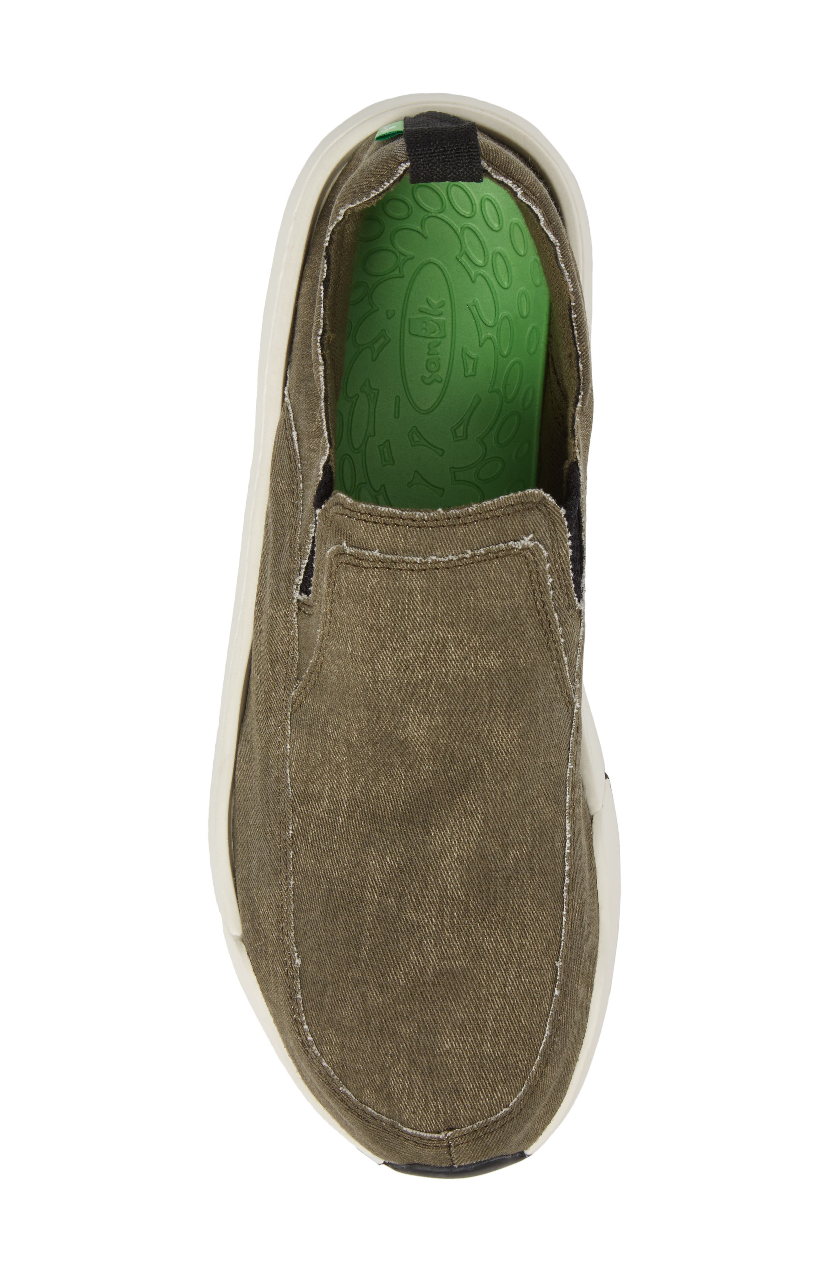 Chiba Quest Slip-On Sneaker,                             Alternate thumbnail 5, color,                             Olive