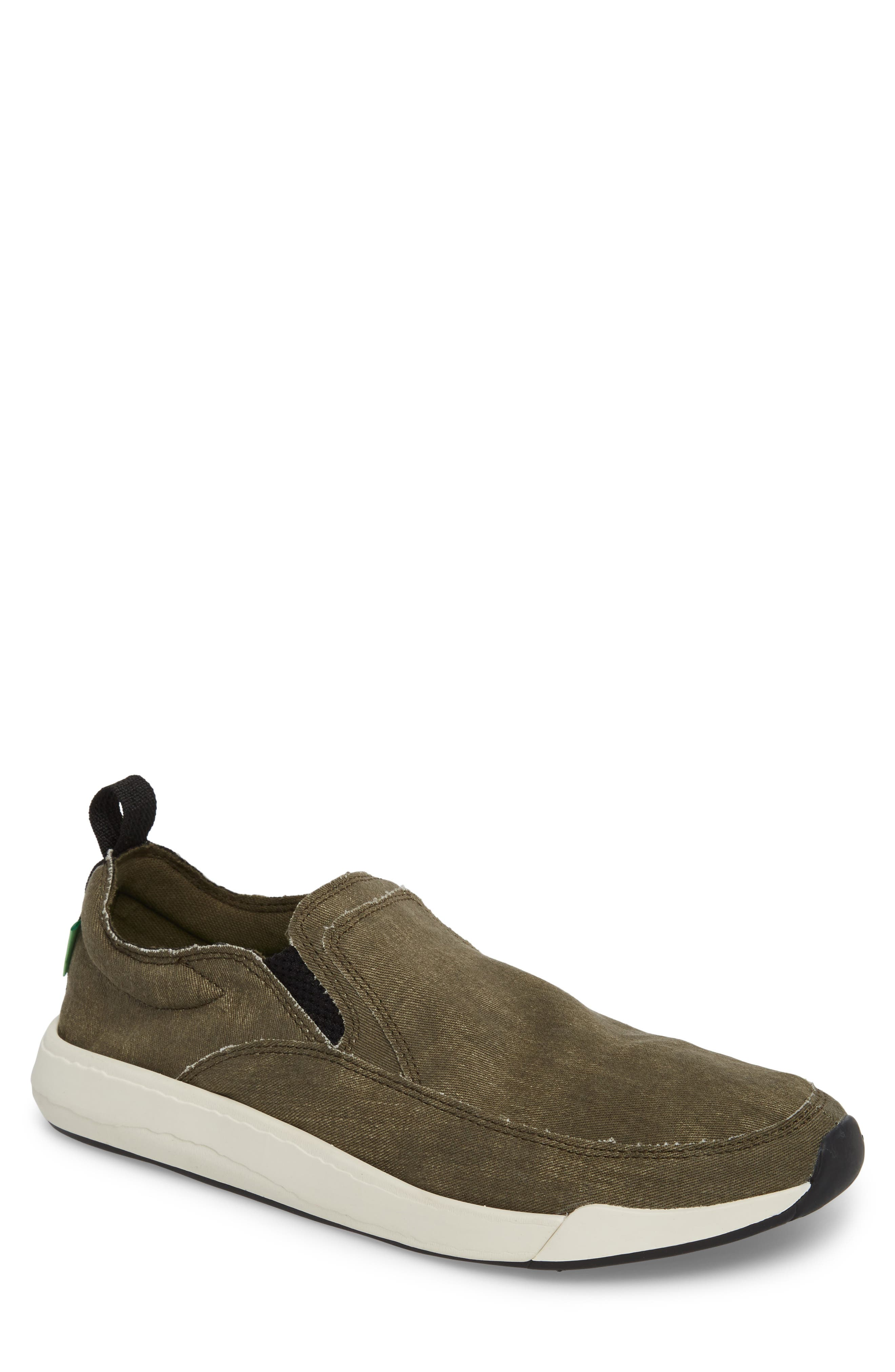 Chiba Quest Slip-On Sneaker,                             Main thumbnail 1, color,                             Olive