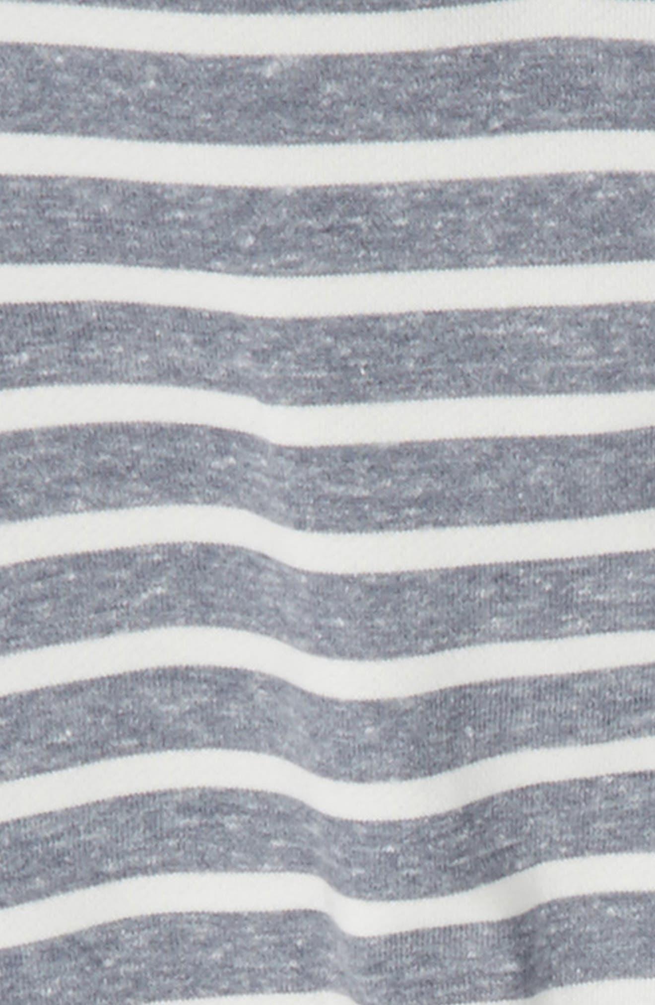Stripe Sweater & Pants Set,                             Alternate thumbnail 2, color,                             Blue/ White