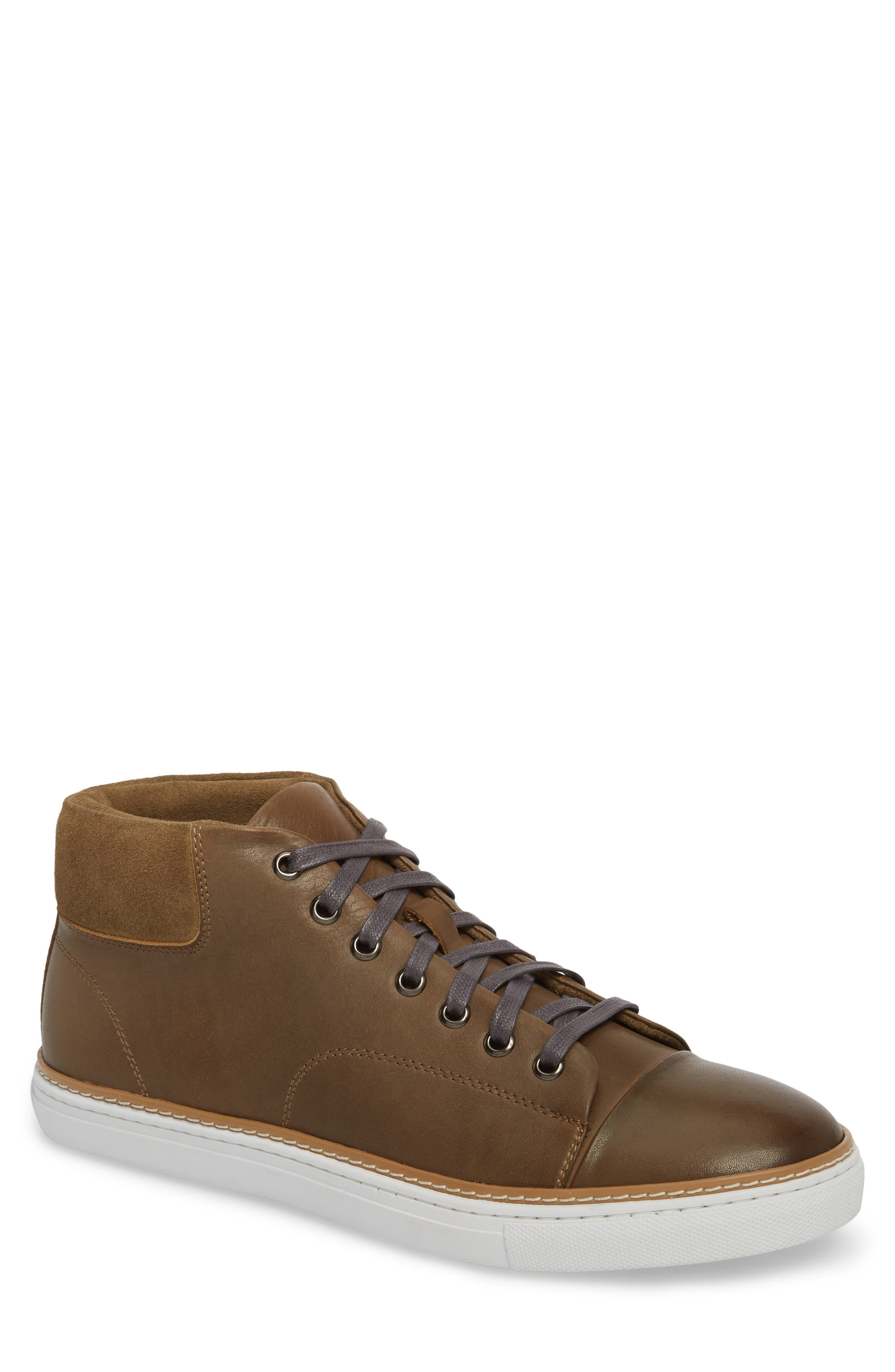 Grove Sneaker,                             Main thumbnail 1, color,                             Tan Leather