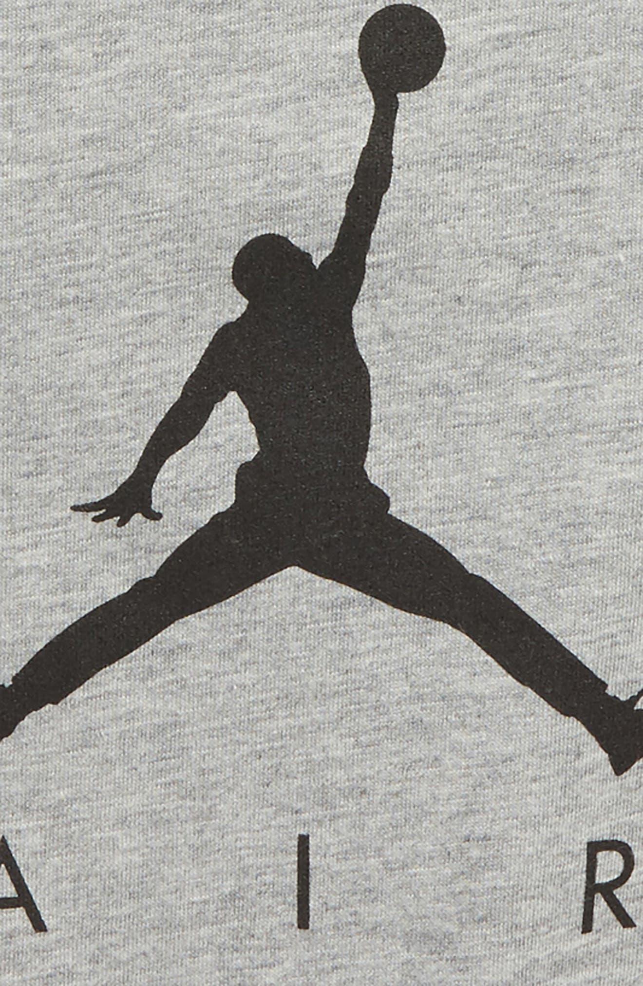Jordan AJ3 Photo Graphic T-Shirt,                             Alternate thumbnail 3, color,                             Carbon Heather