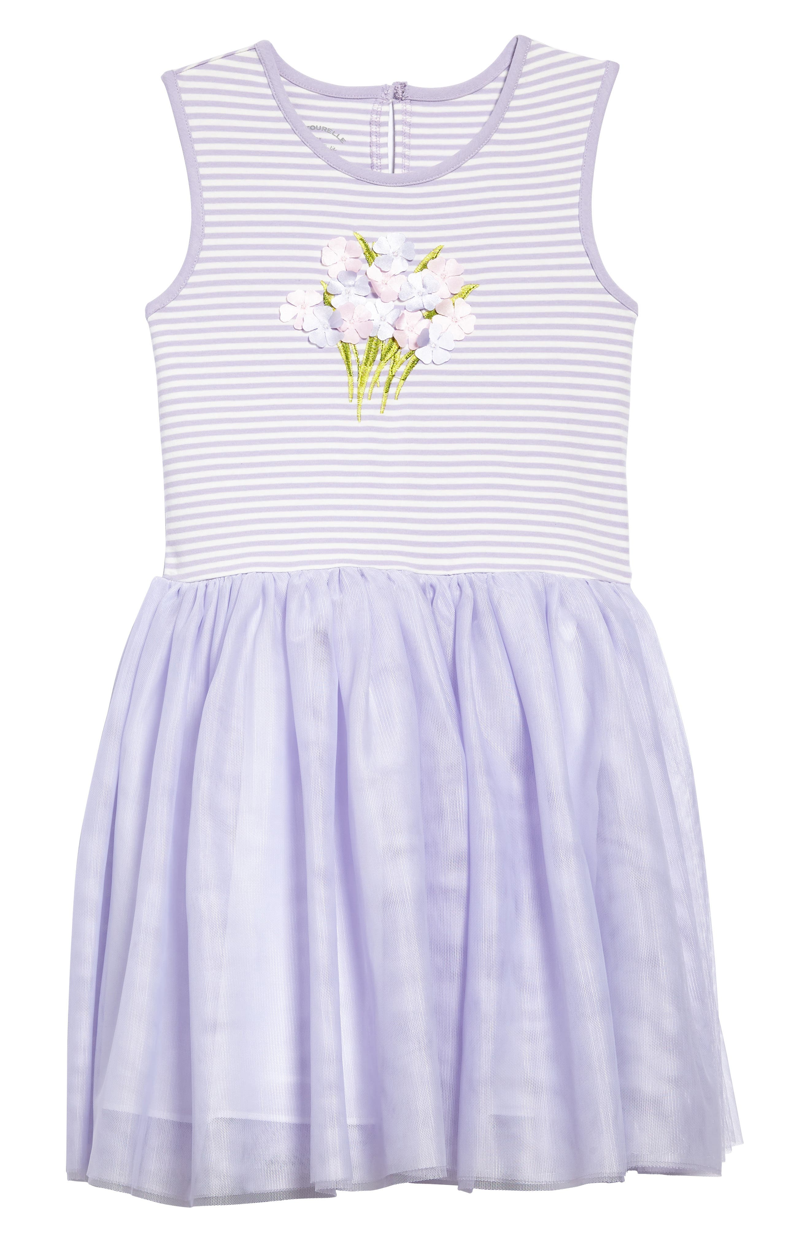 Pastourelle by Pippa & Julie Sleeveless Tutu Dress (Toddler Girls, Little Girls & Big Girls)