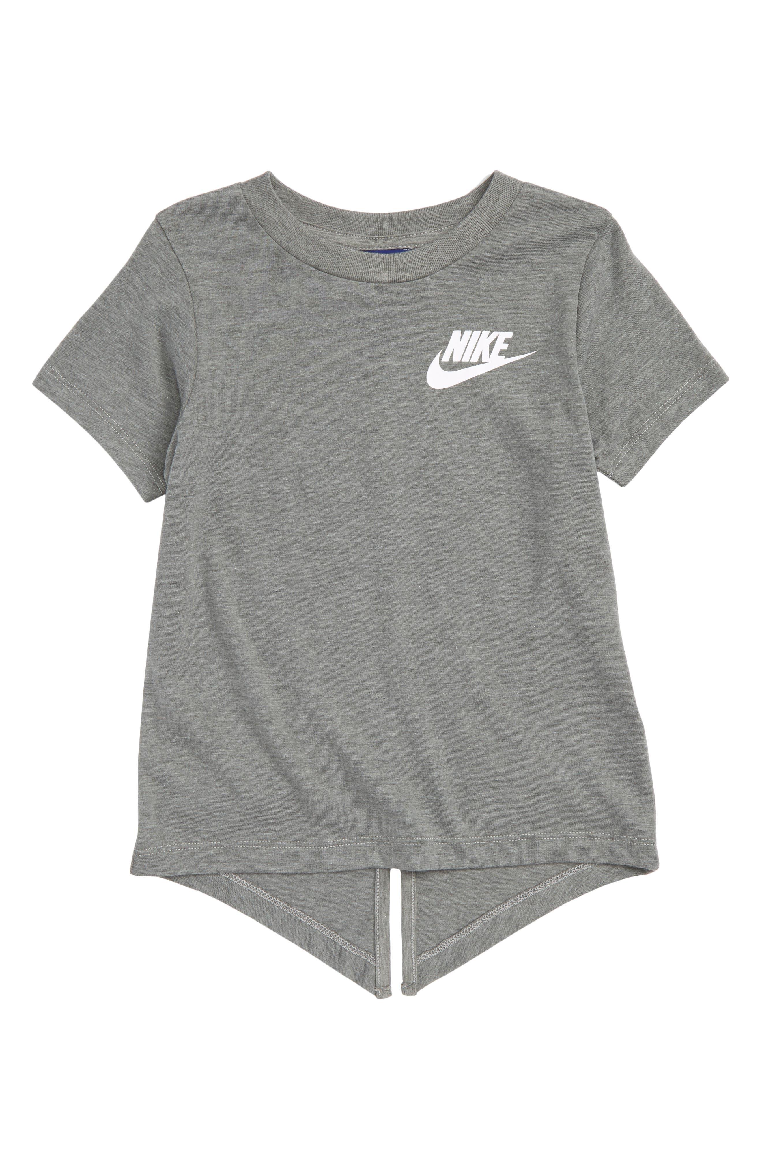 Nike Core Split Hem Tee (Toddler Girls & Little Girls)