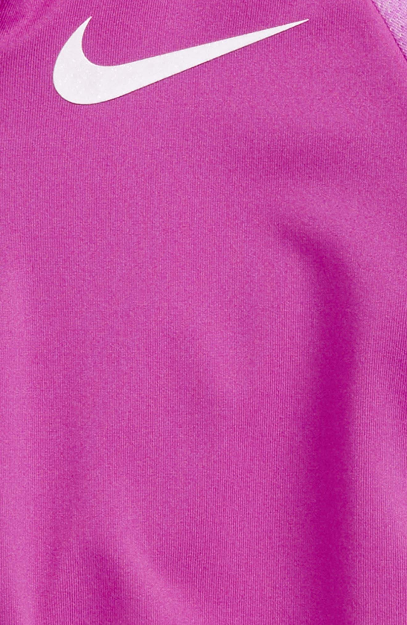Alternate Image 2  - Nike Dry Half Zip Pullover (Toddler Girls & Little Girls)