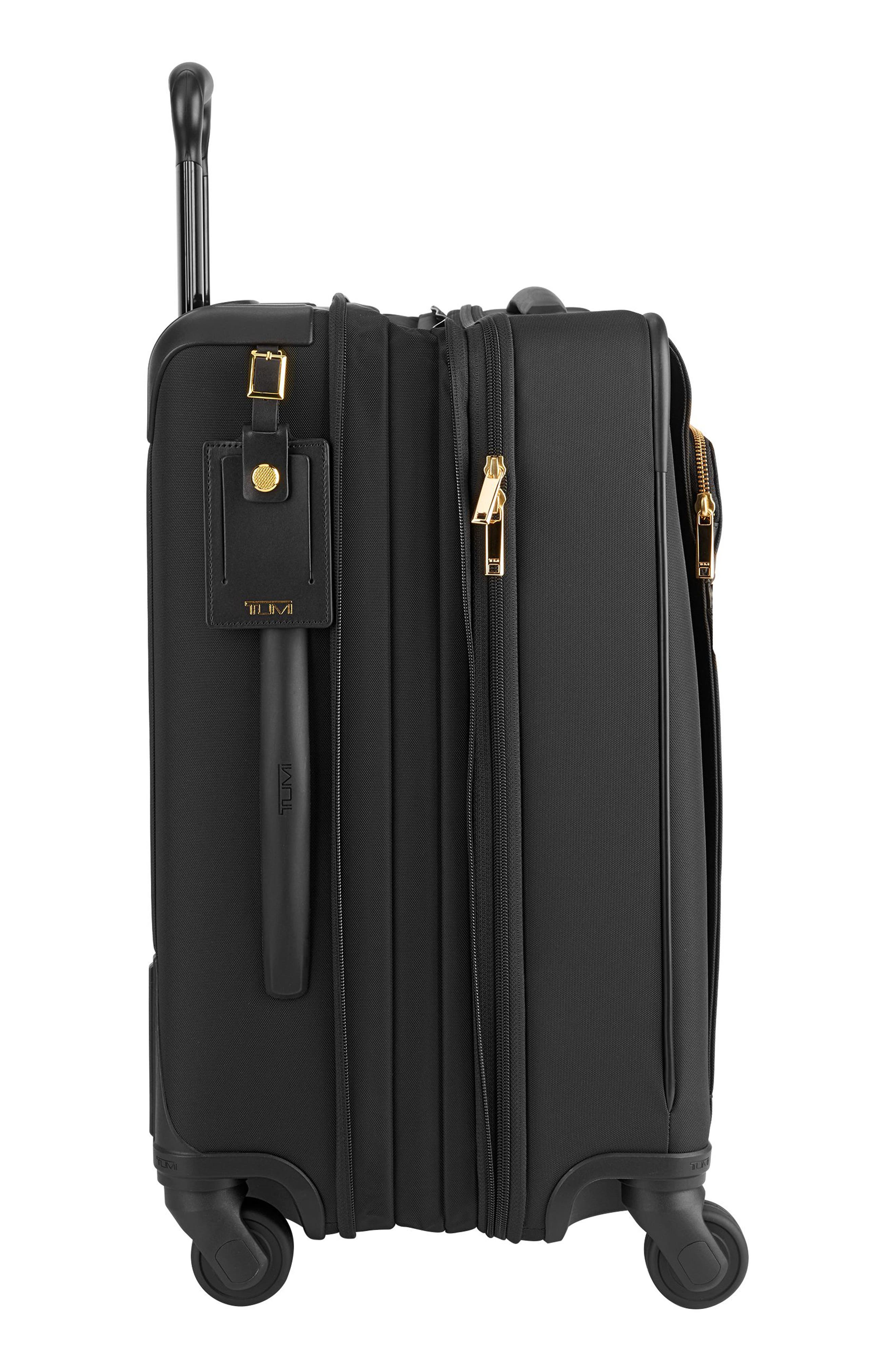 Alex 22-Inch Continental Carry-On,                             Alternate thumbnail 5, color,                             Black