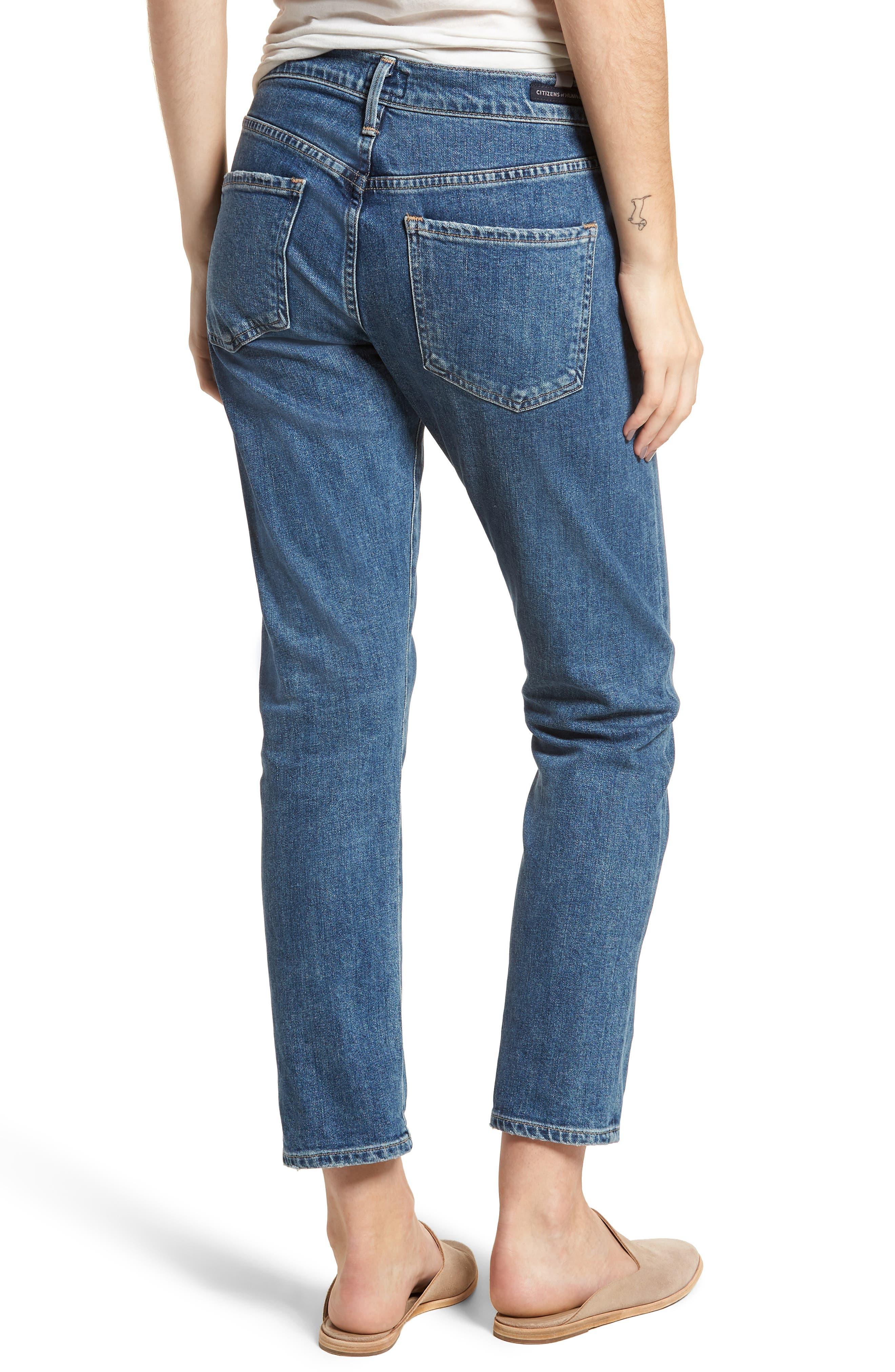 Emerson Slim Boyfriend Jeans,                             Alternate thumbnail 2, color,                             Century