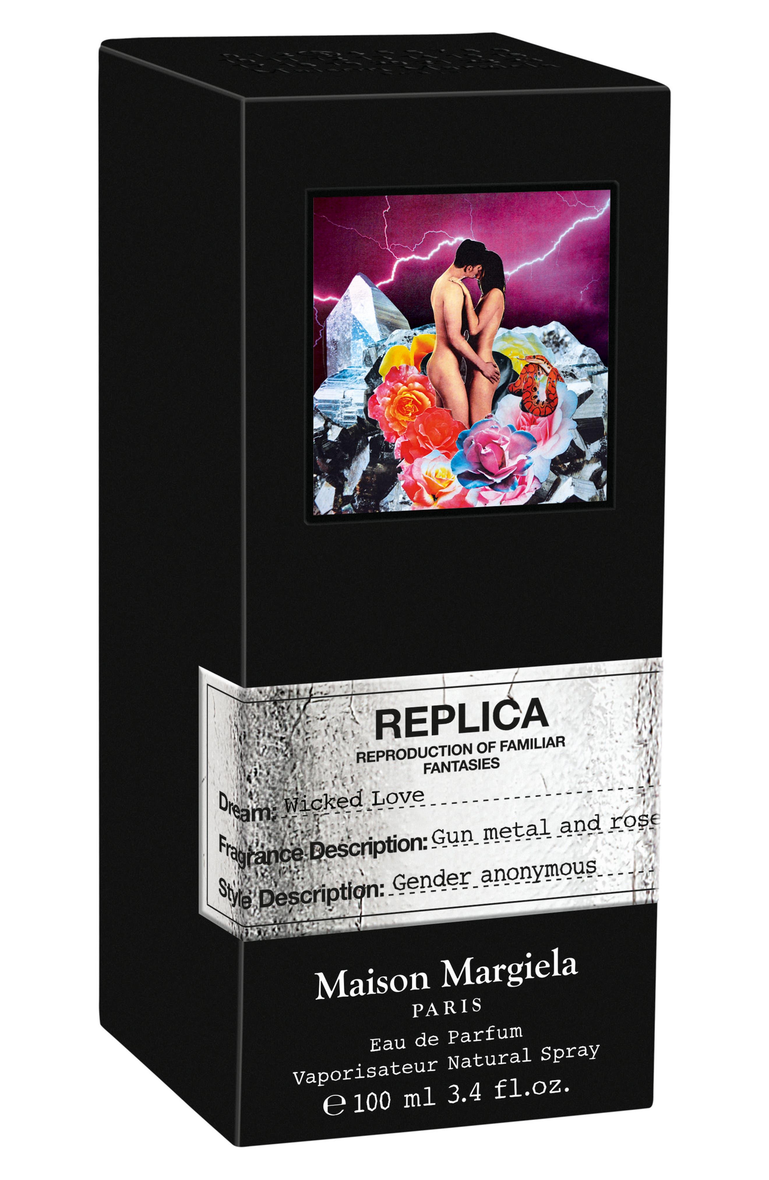 Replica Wicked Love Eau de Parfum,                             Alternate thumbnail 2, color,                             No Color