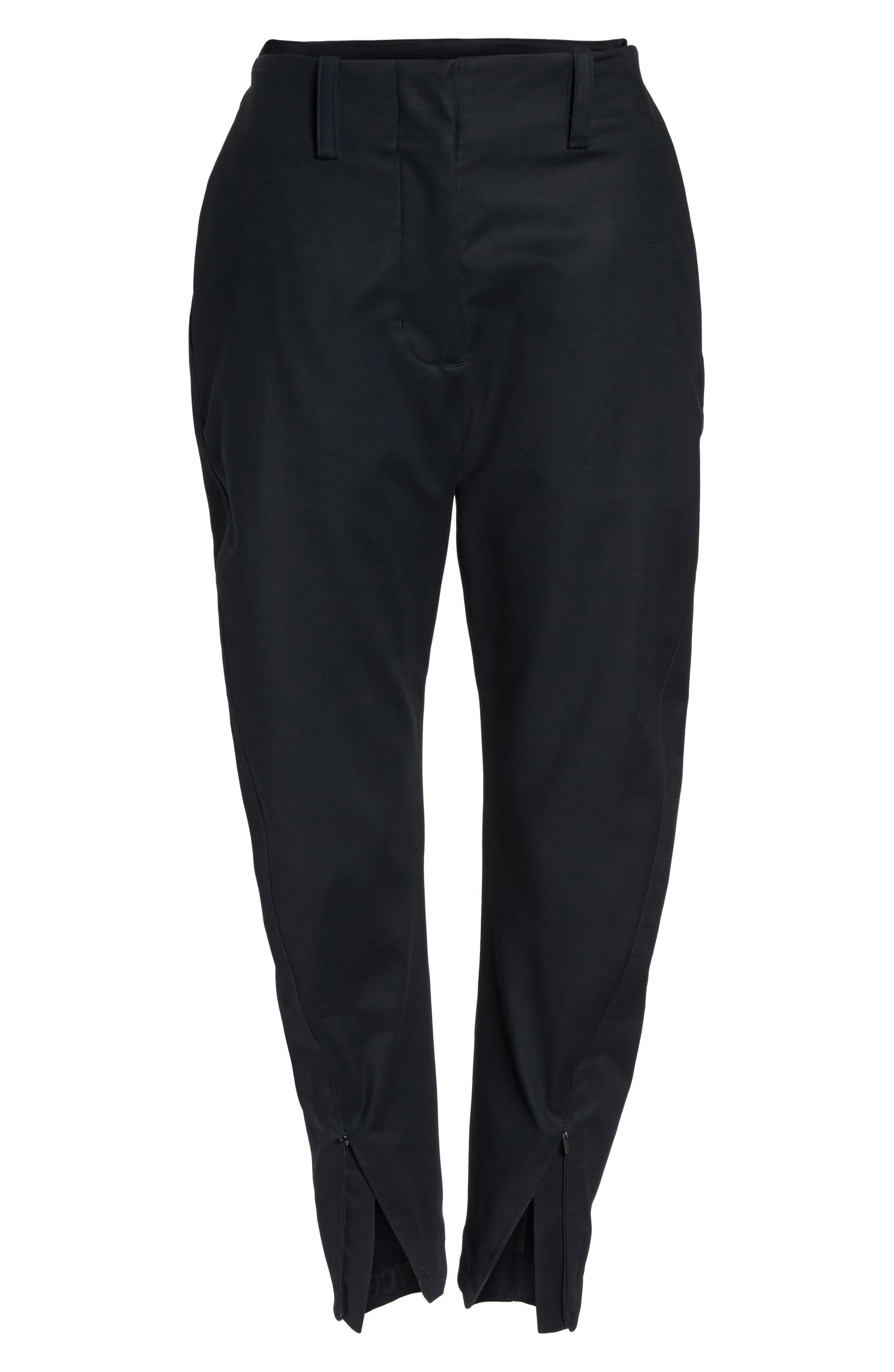 NikeLab ACG Tech Woven Pants,                             Alternate thumbnail 7, color,                             Black