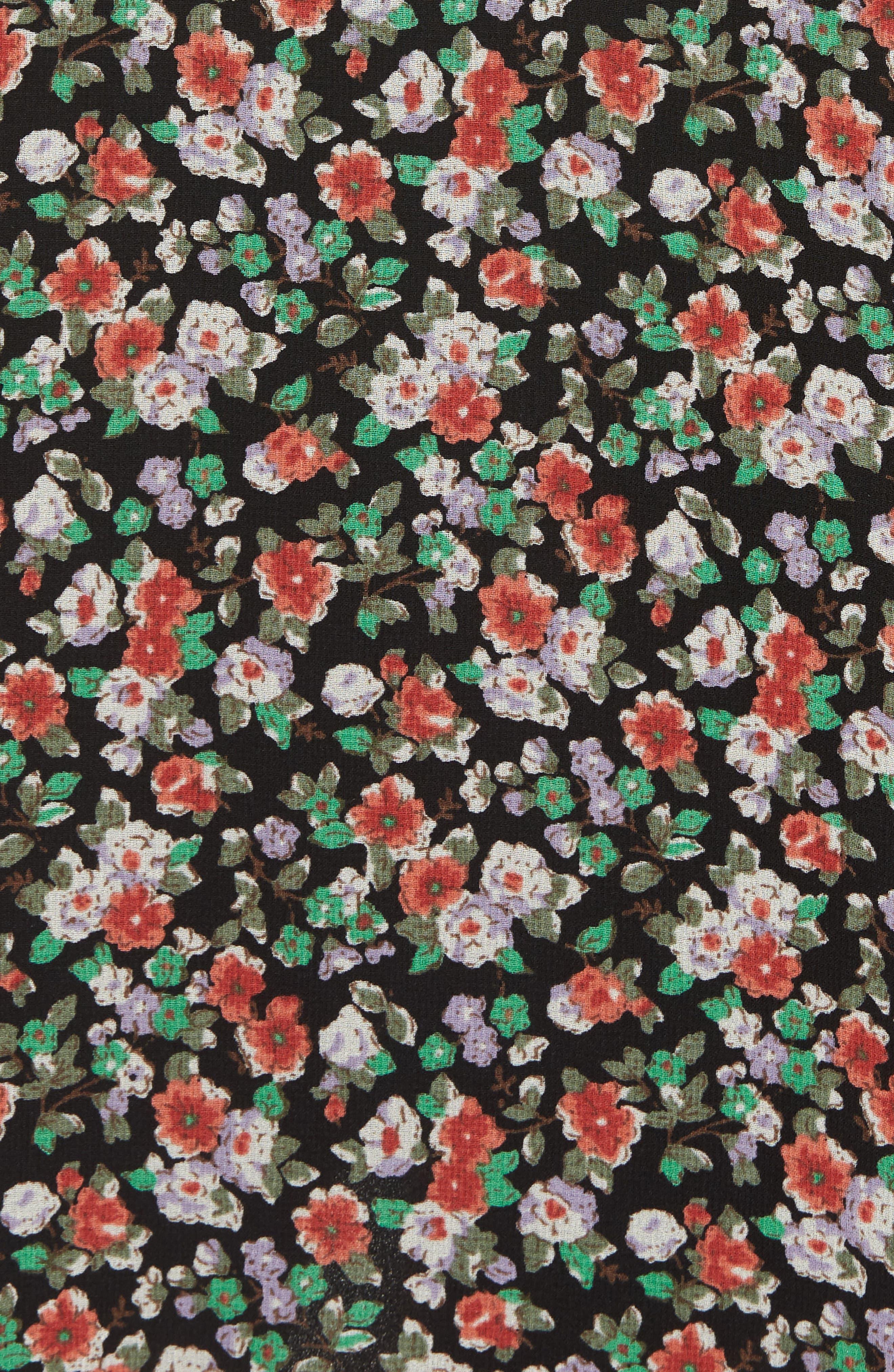 Ali Dress,                             Alternate thumbnail 5, color,                             Black Multi