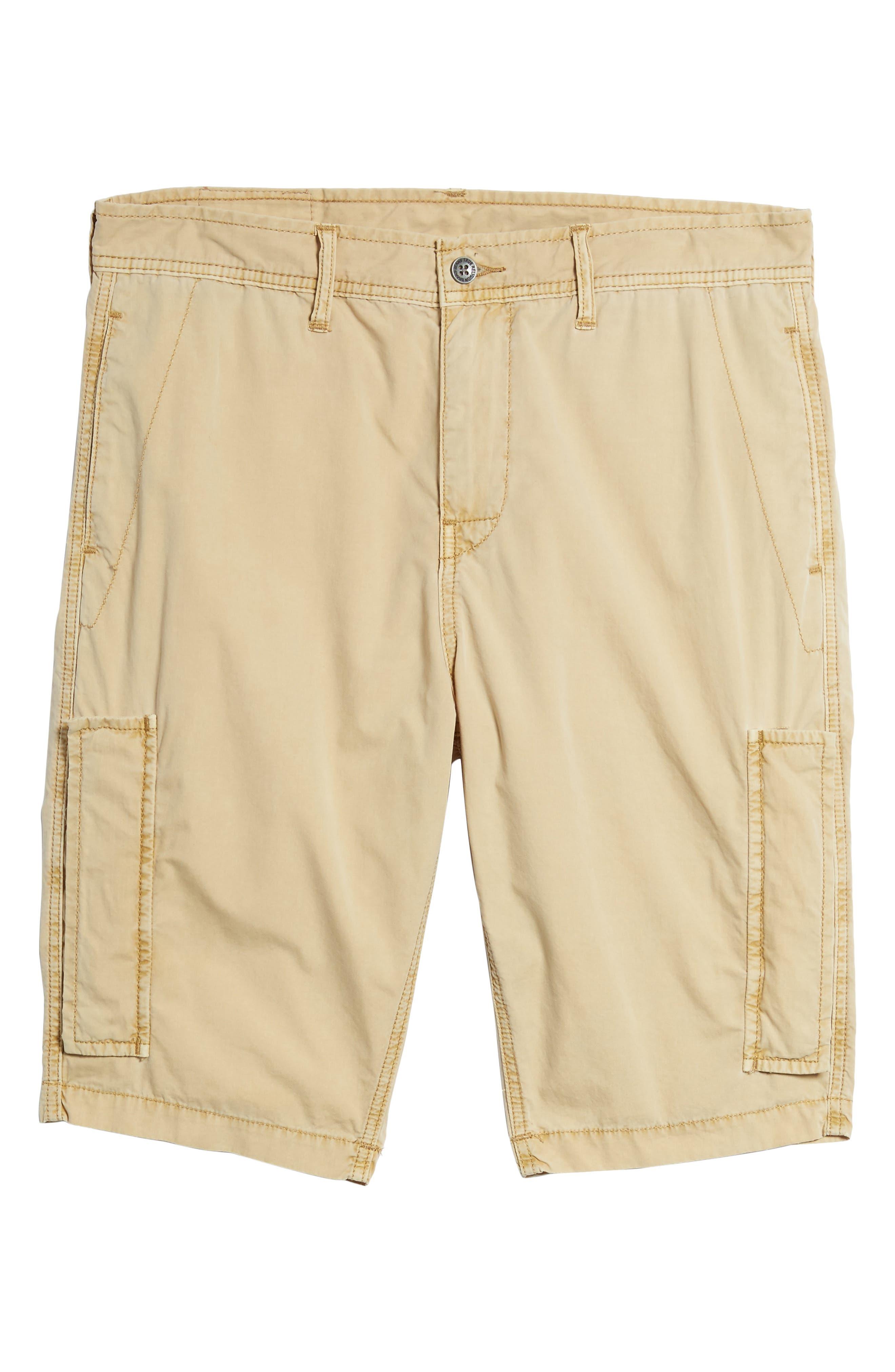 Alternate Image 6  - True Religion Brand Jeans Officer Field Shorts