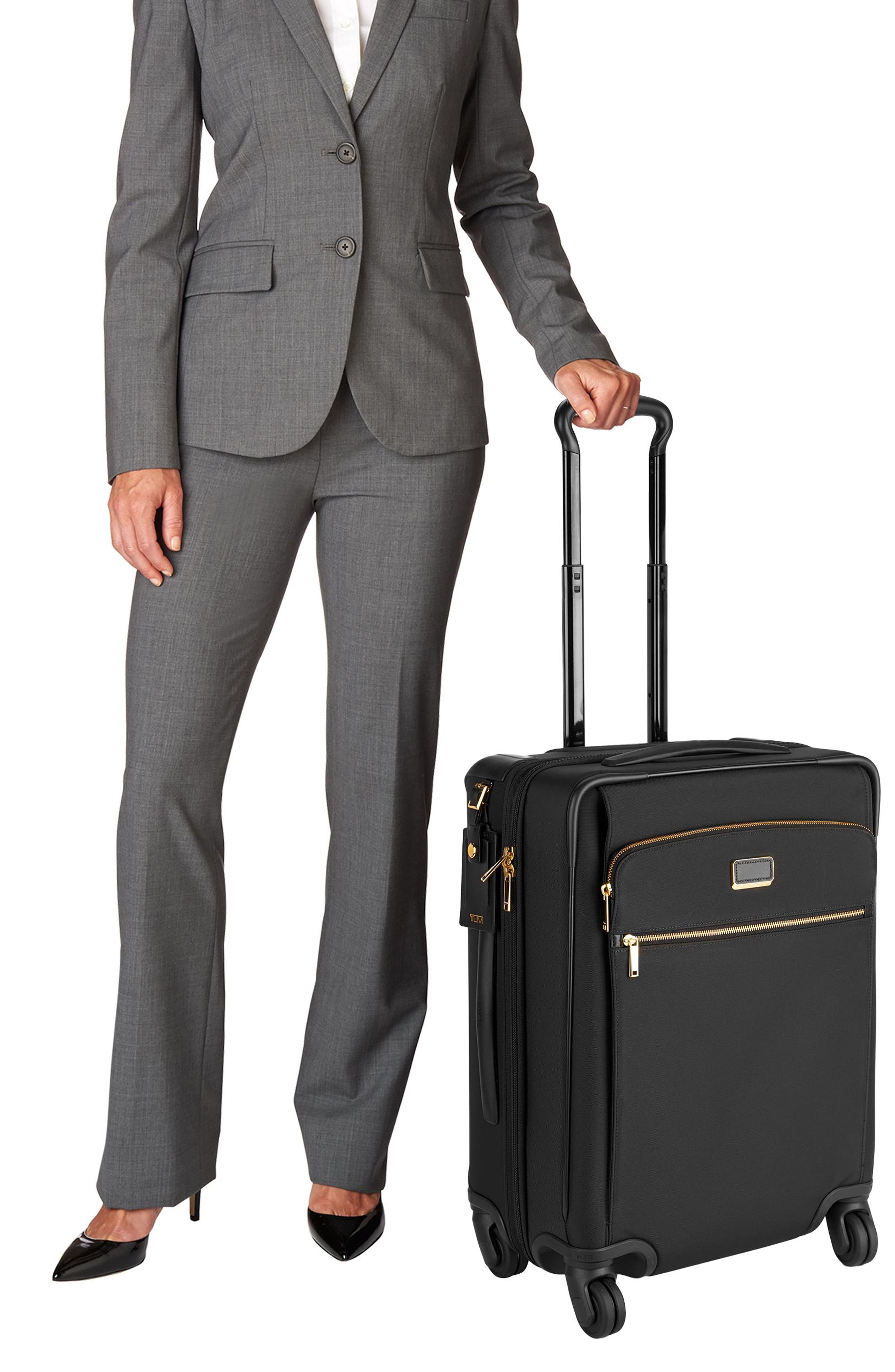 Alex 22-Inch Continental Carry-On,                             Alternate thumbnail 3, color,                             Black