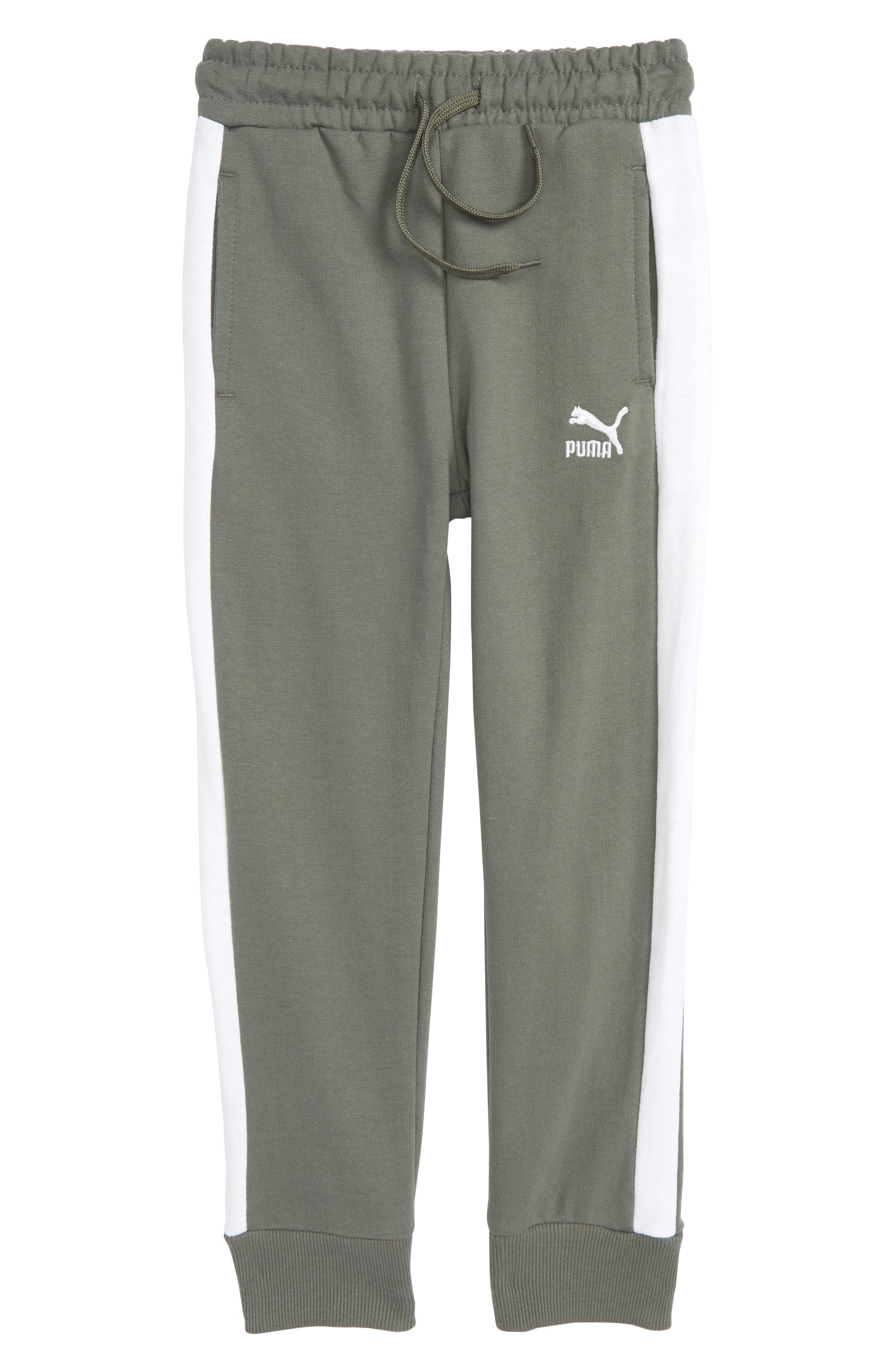 Archive Logo T7 Sweatpants,                         Main,                         color, Castor Grey