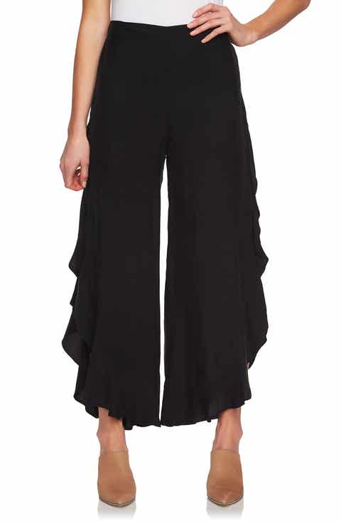 1.STATE Ruffle Wide Leg Pants