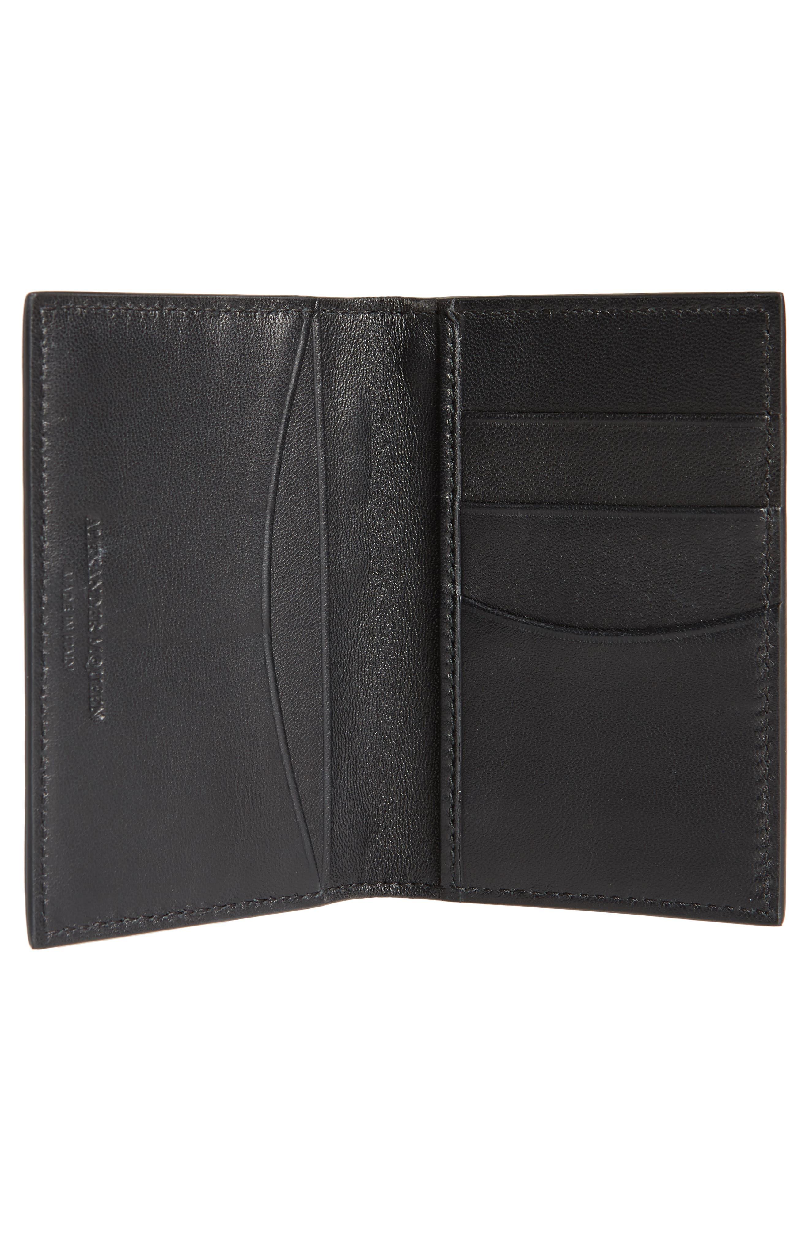 Alternate Image 2  - Alexander McQueen Studded Leather Card Holder