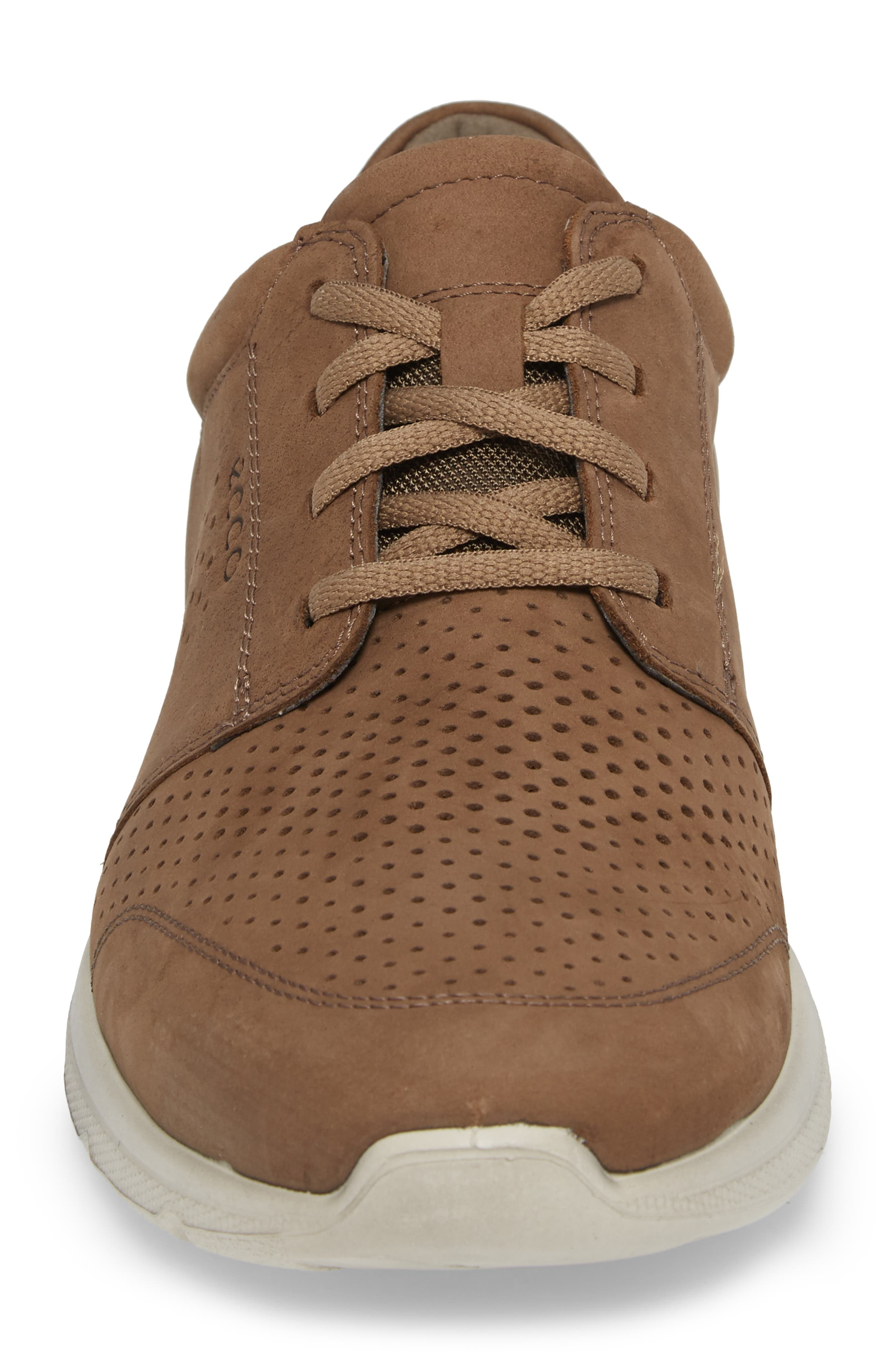 Irving Lace-Up Sneaker,                             Alternate thumbnail 4, color,                             Birch Leather
