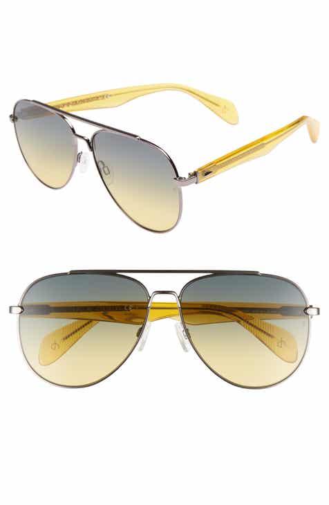63b4cf97828d6 rag   bone 62mm Oversize Aviator Sunglasses