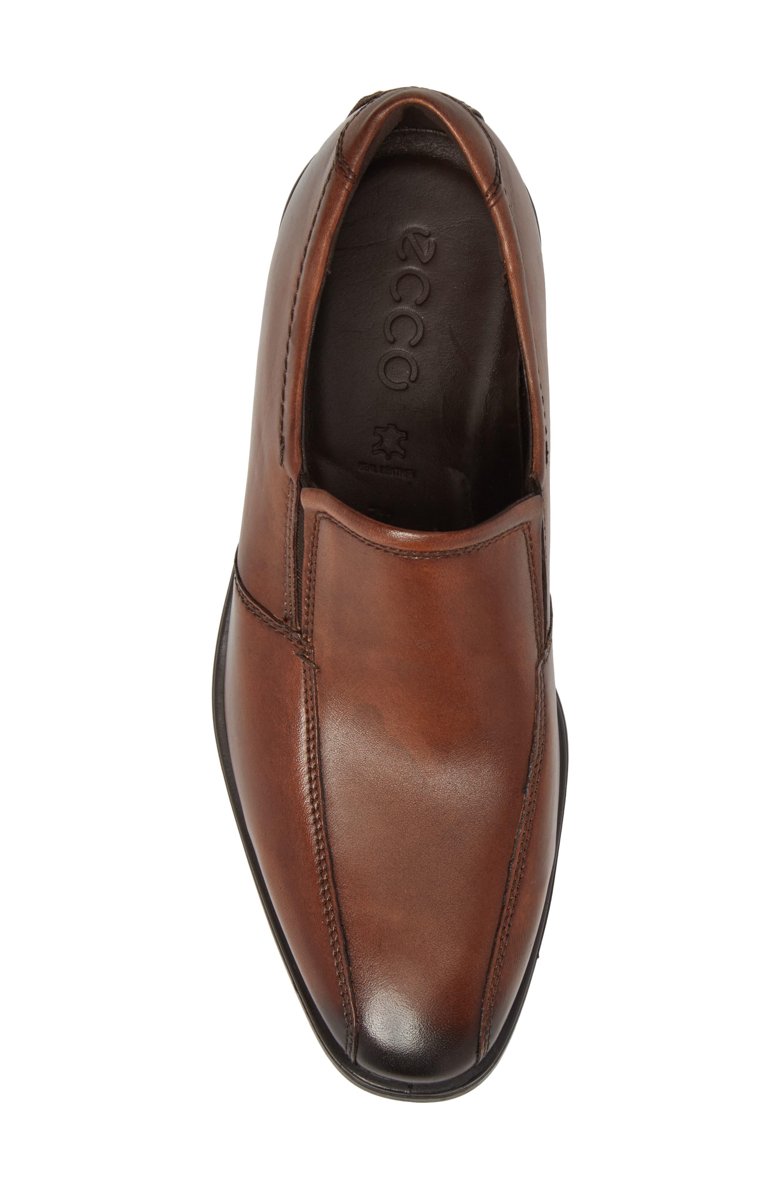 Melbourne Venetian Loafer,                             Alternate thumbnail 5, color,                             Amber Leather