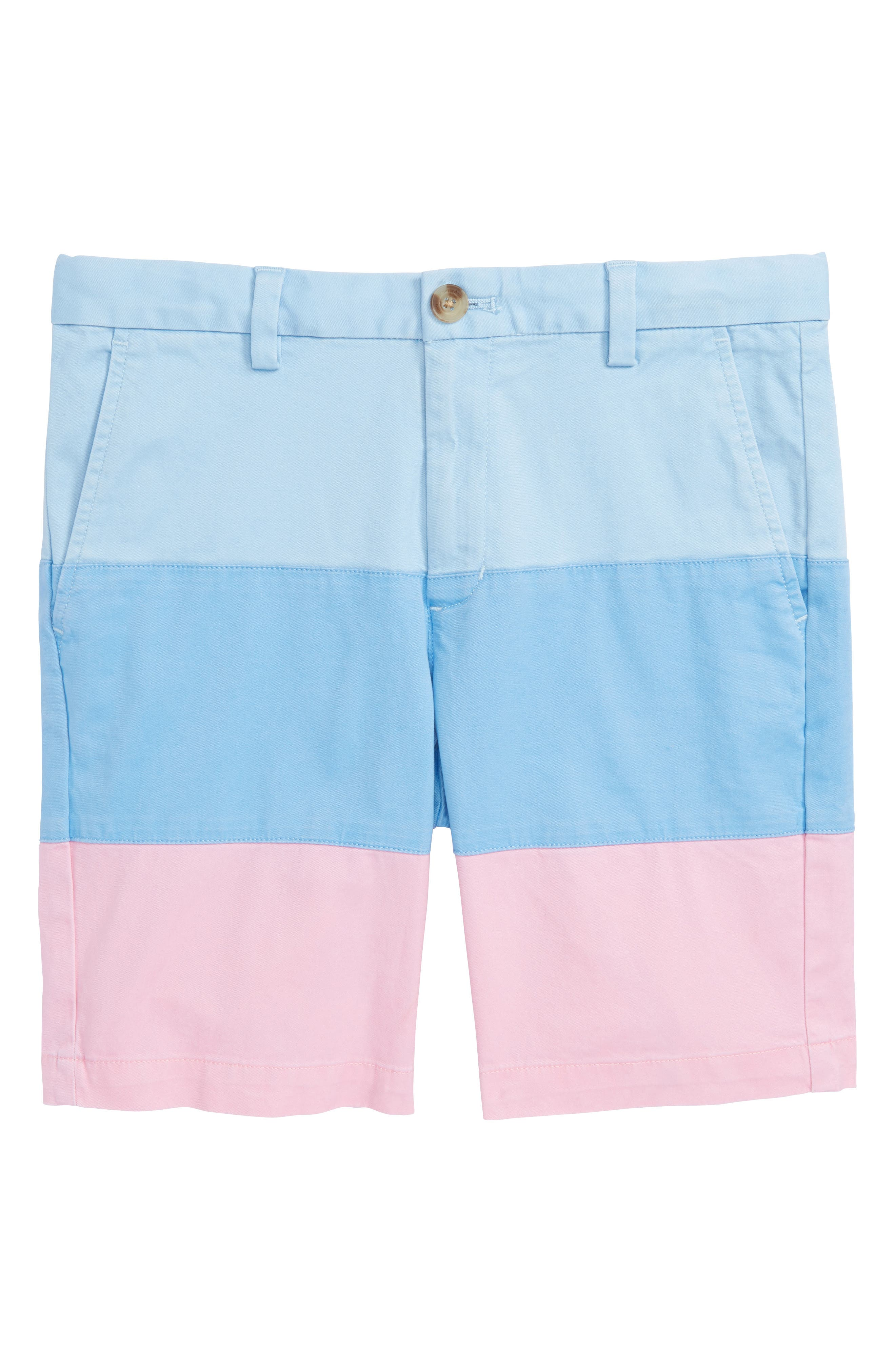 Pieced Stretch Breaker Shorts,                             Main thumbnail 1, color,                             Jake Blue
