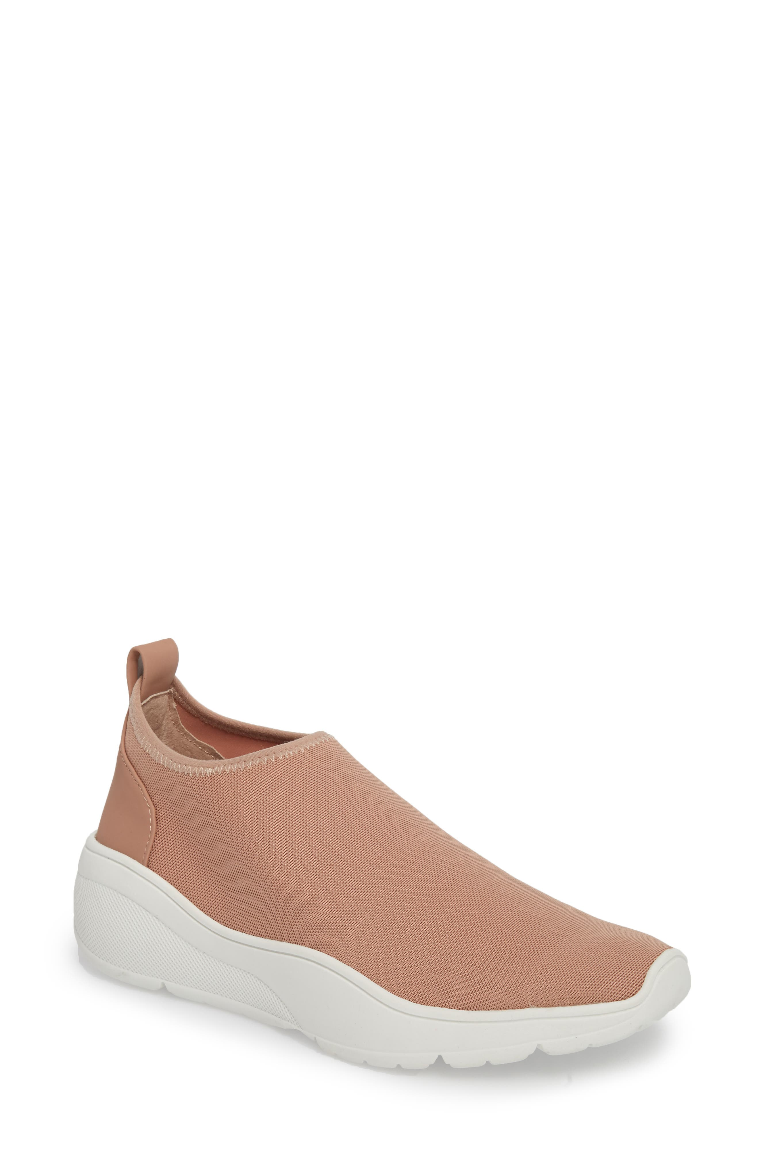 Floren Slip-On Sneaker,                             Main thumbnail 1, color,                             Blush