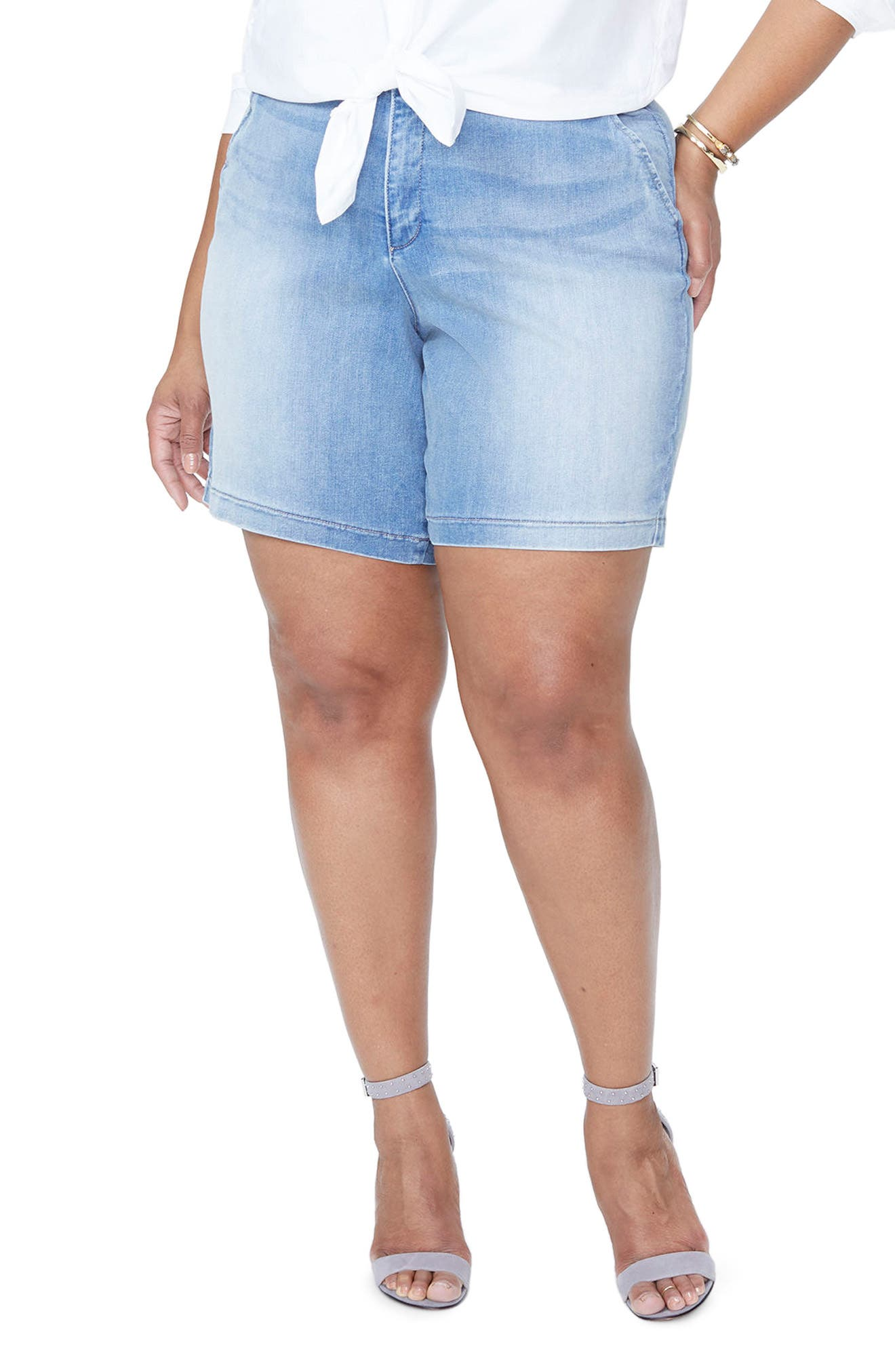 NYDJ Bermuda Shorts (Plus Size)