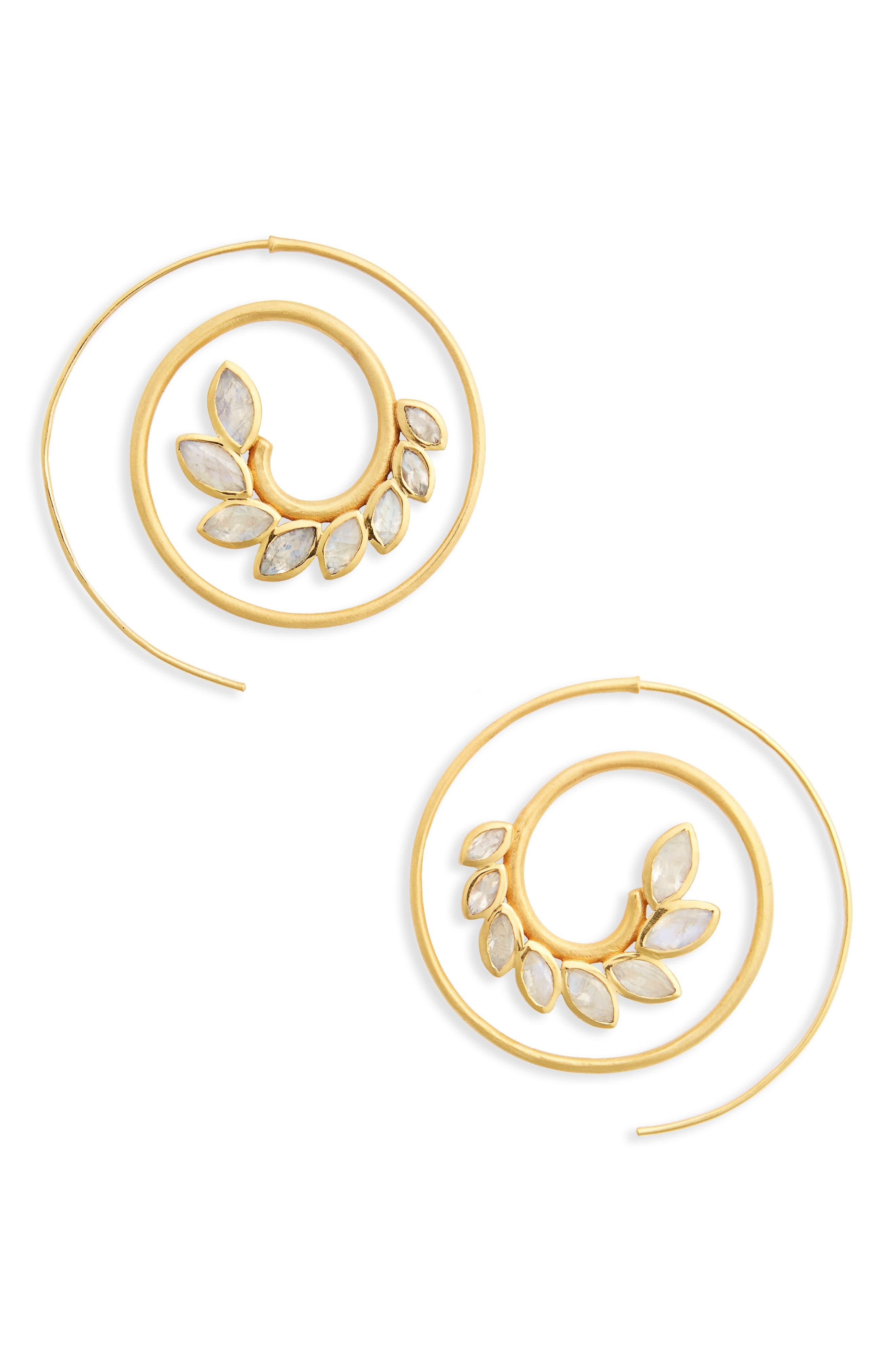 Dean Davidson Kamala Spiral Earrings