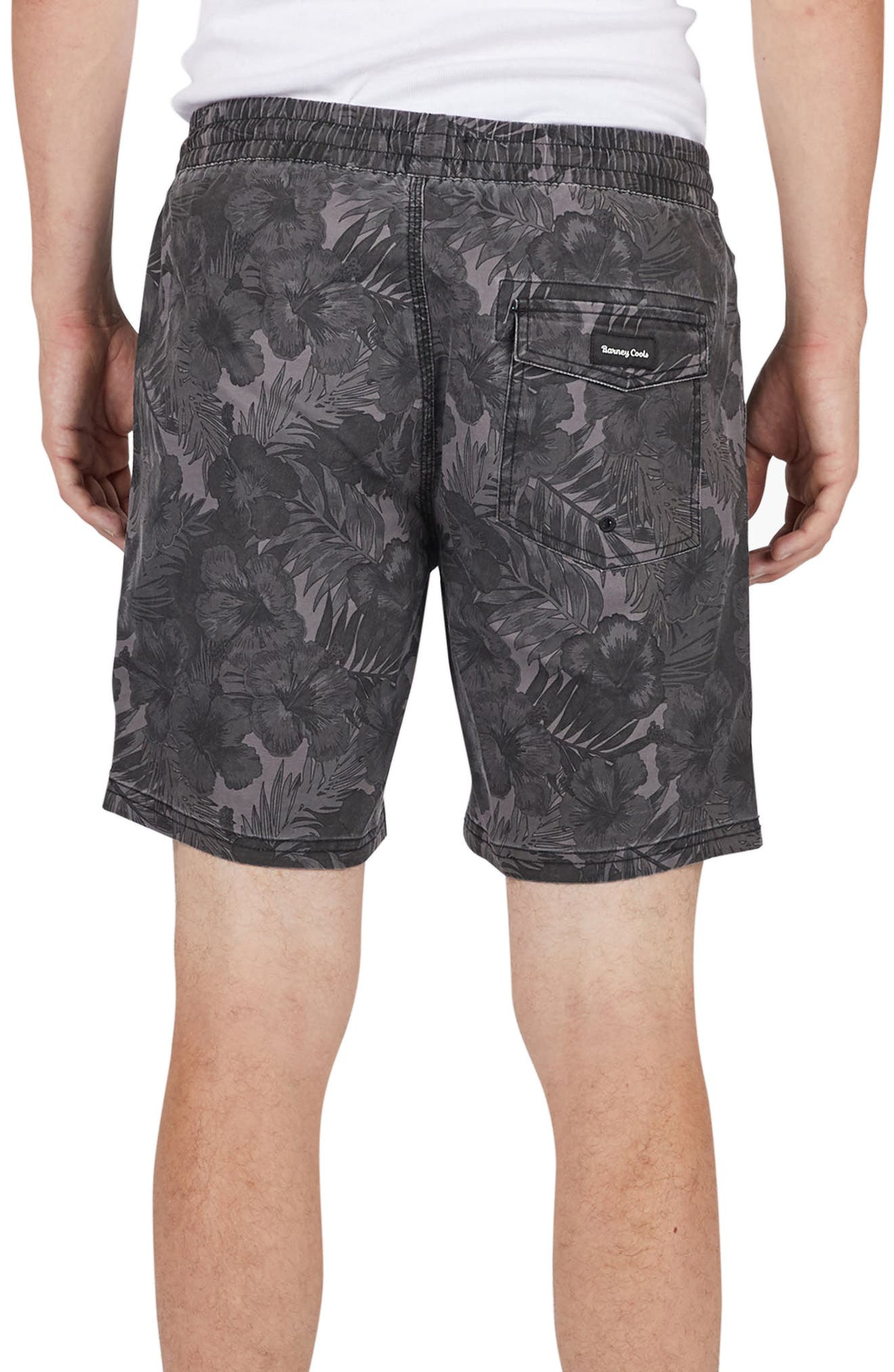 Amphibious Shorts,                             Alternate thumbnail 2, color,                             Black Floral