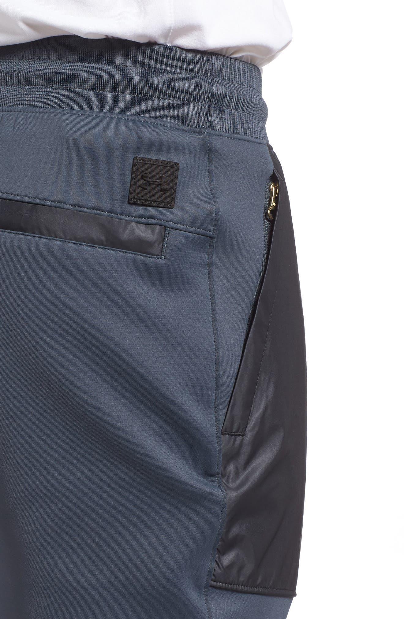 Utility Jogger Pants,                             Alternate thumbnail 4, color,                             Stealth Gray/ Black