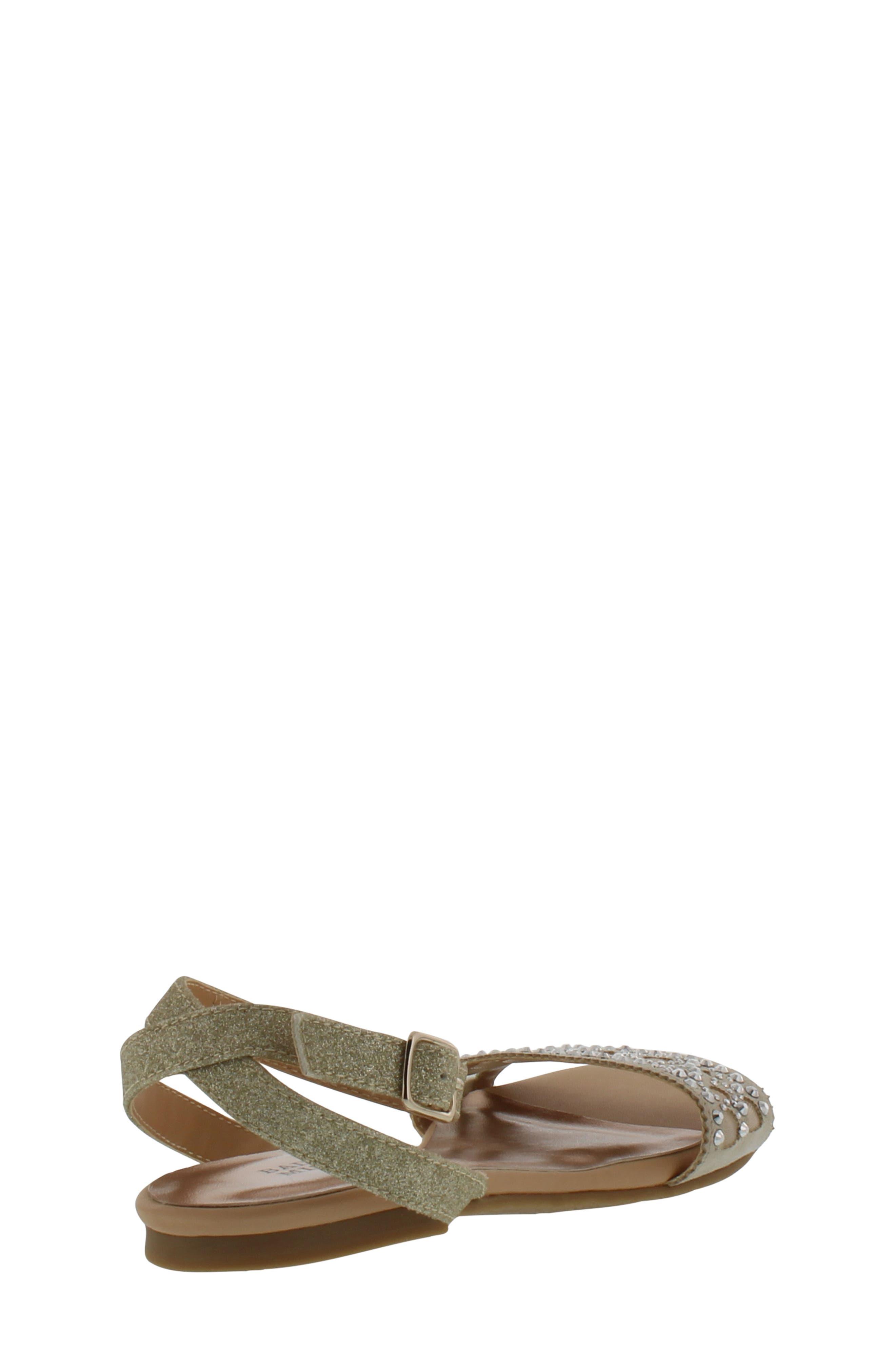 Alternate Image 2  - Badgley Mischka Cara Embellished Sandal (Toddler, Little Kid & Big Kid)